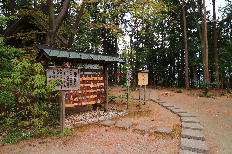 神明社の建物その他