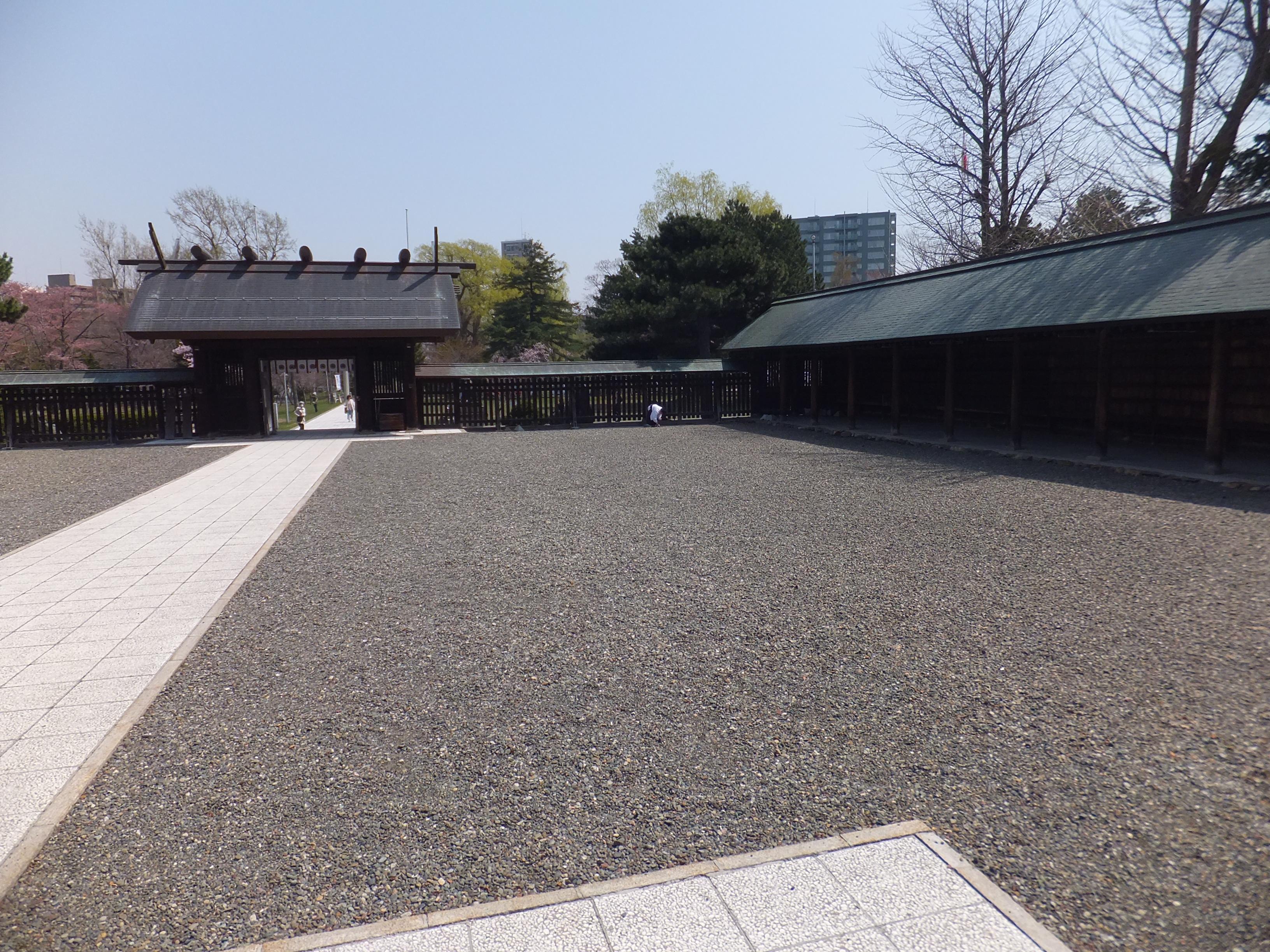 札幌護国神社の境内・文化財