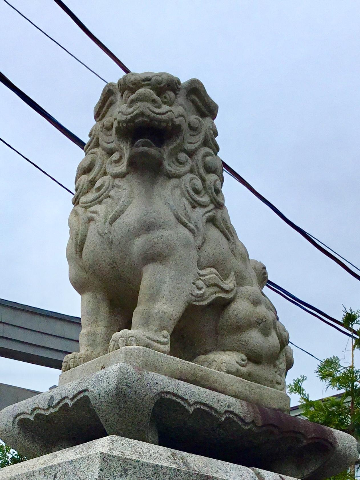 廣田神社~病厄除守護神~の狛犬