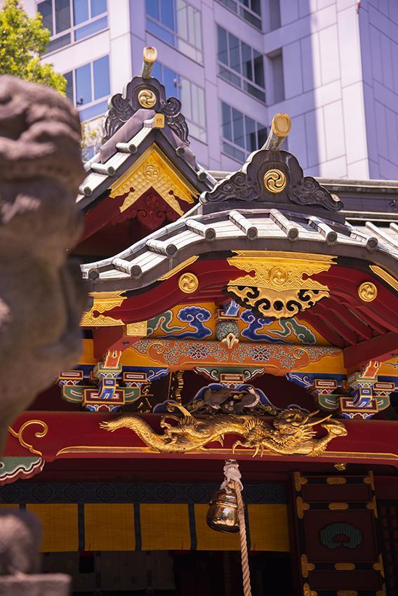 金王八幡宮の本殿