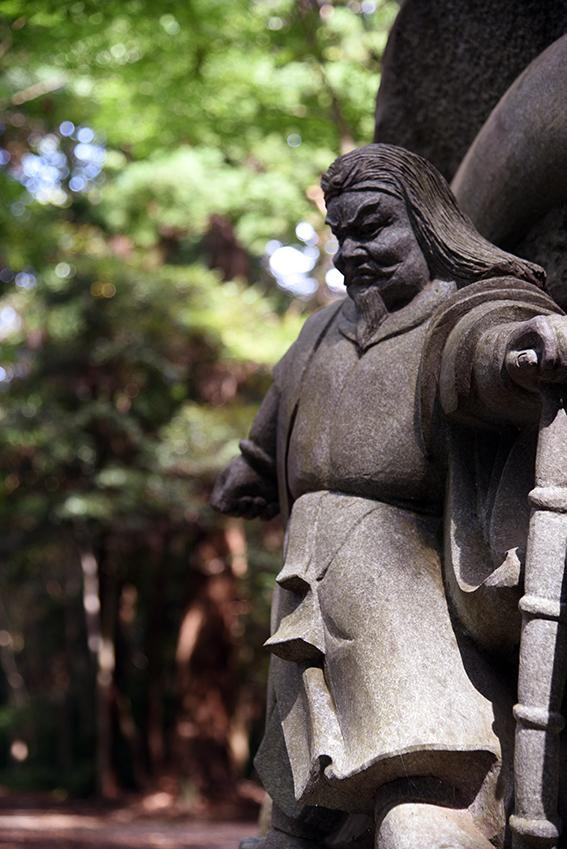 鹿島神宮の像
