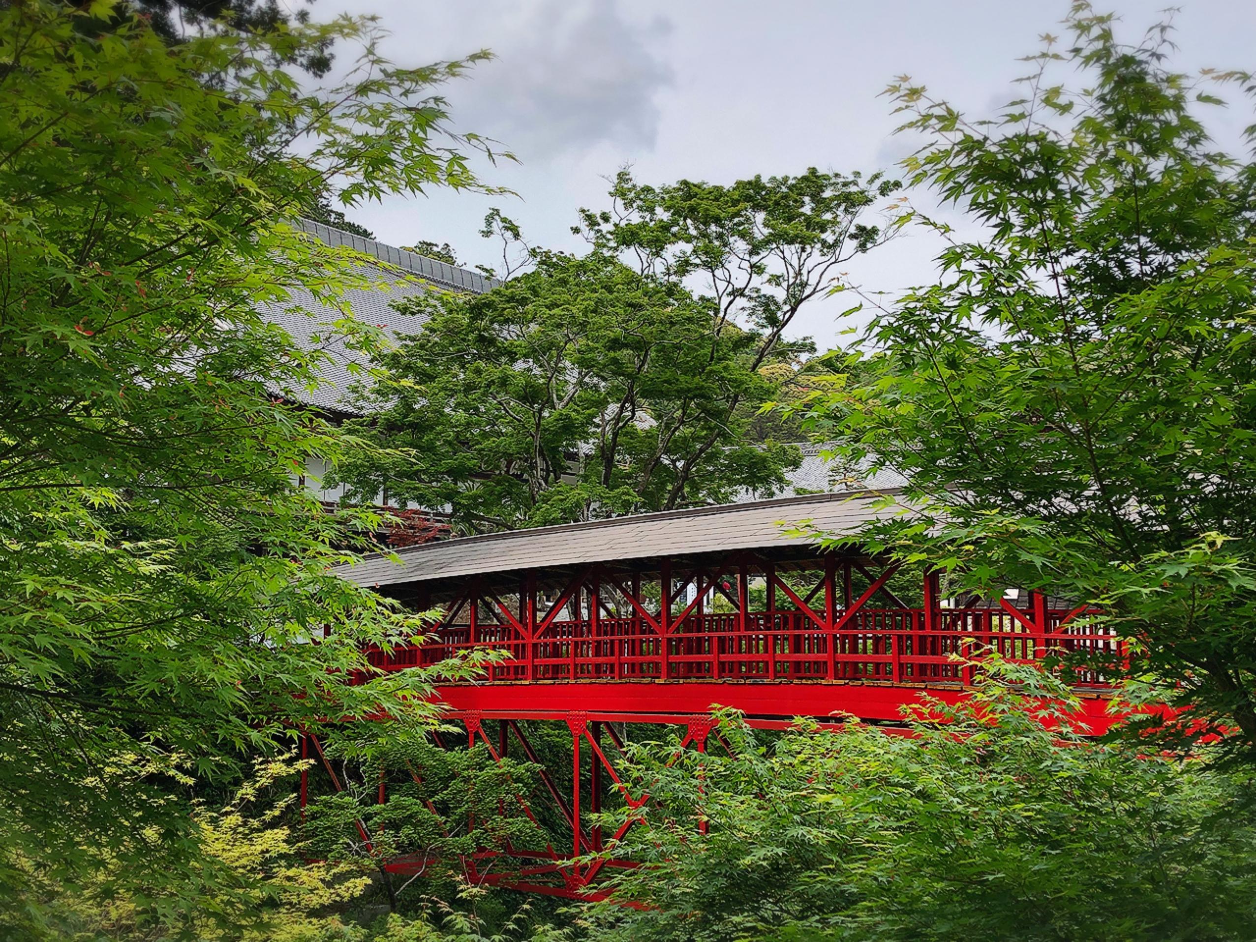 方廣寺の庭園