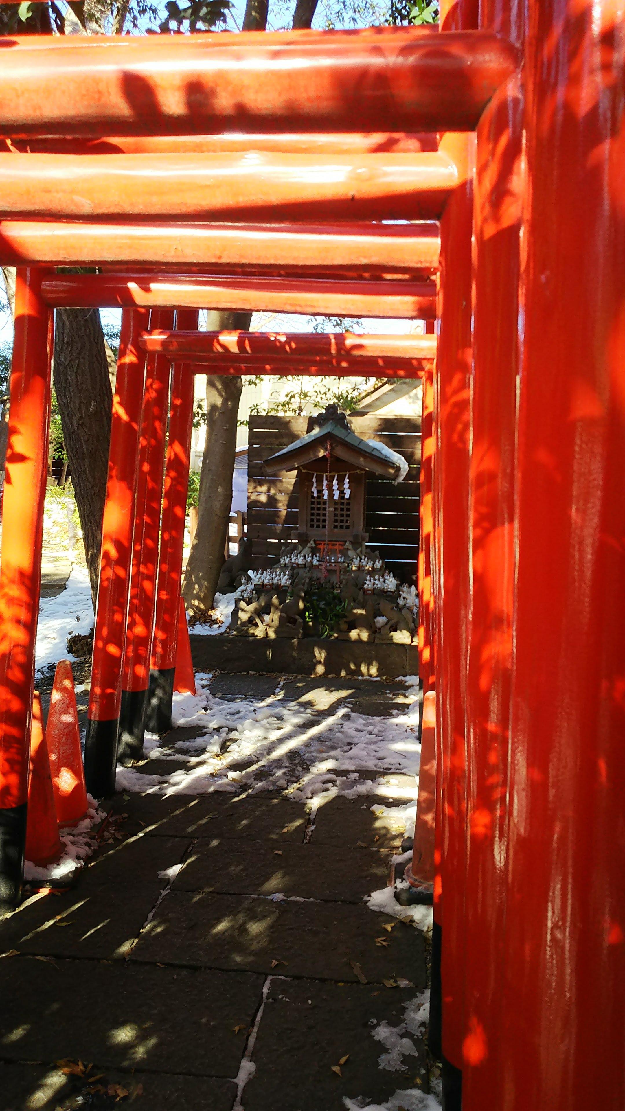 鎮守氷川神社の鳥居