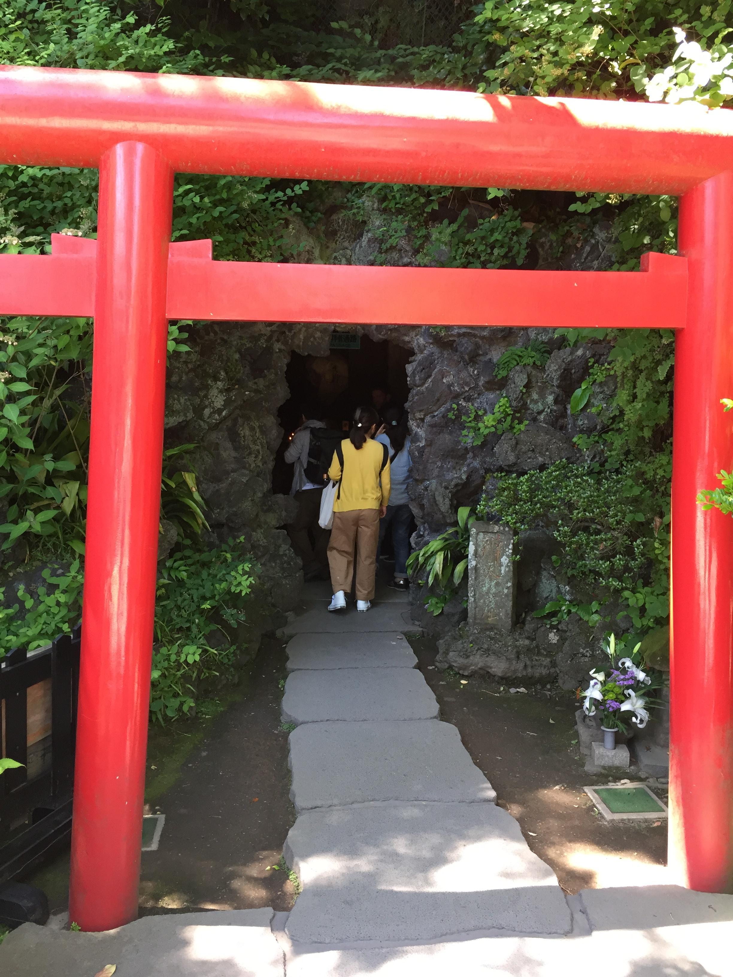 長谷寺の鳥居