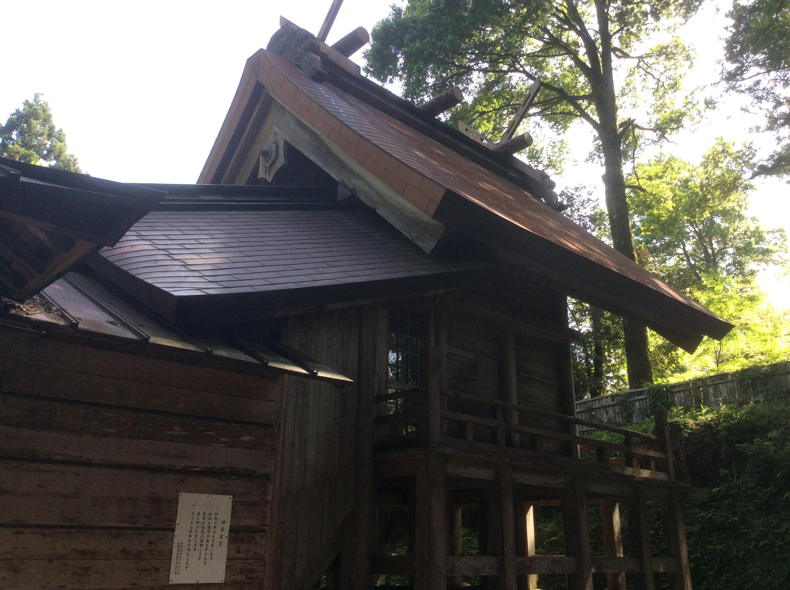 温泉神社の本殿