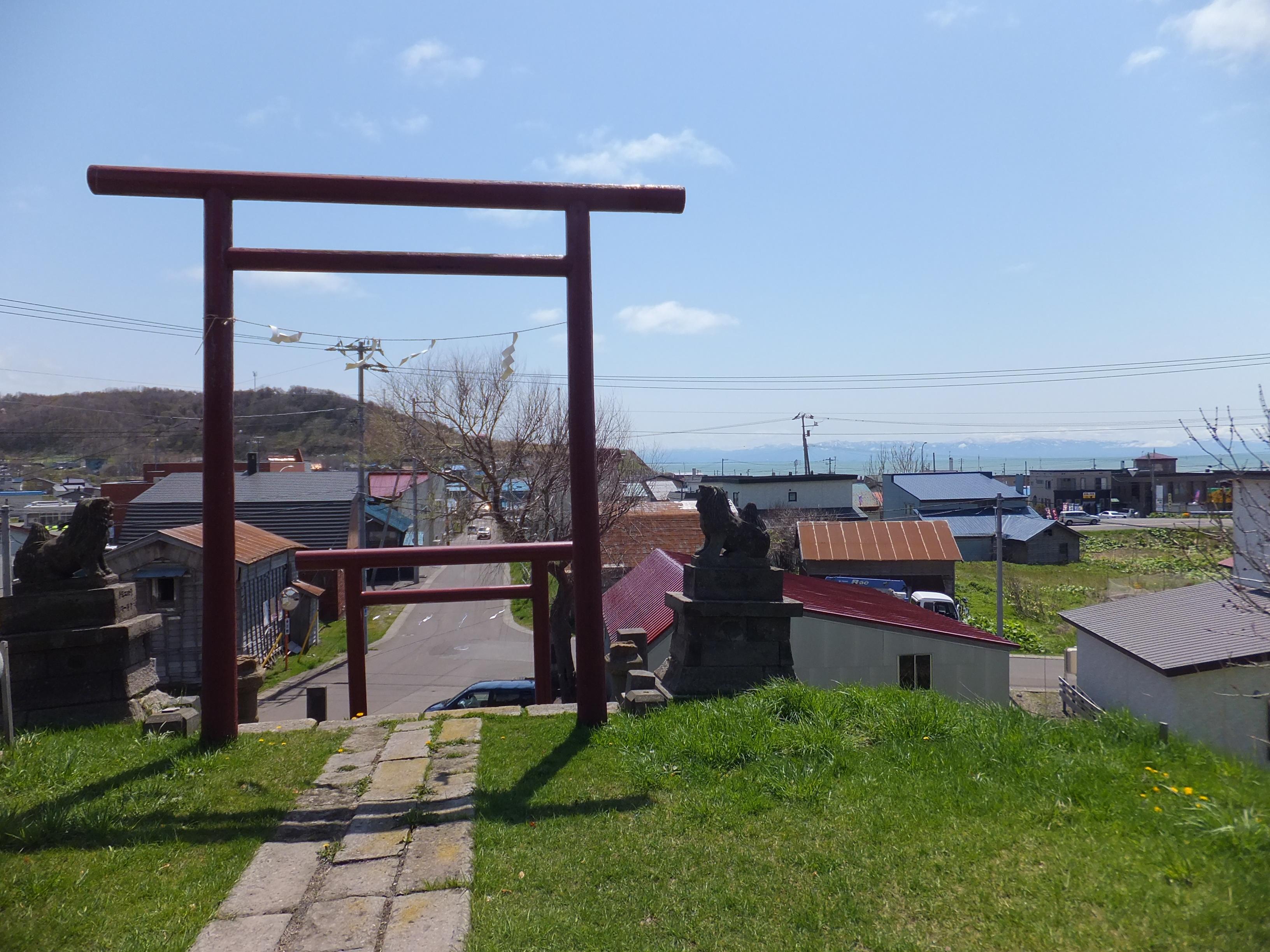 厚田神社の景色