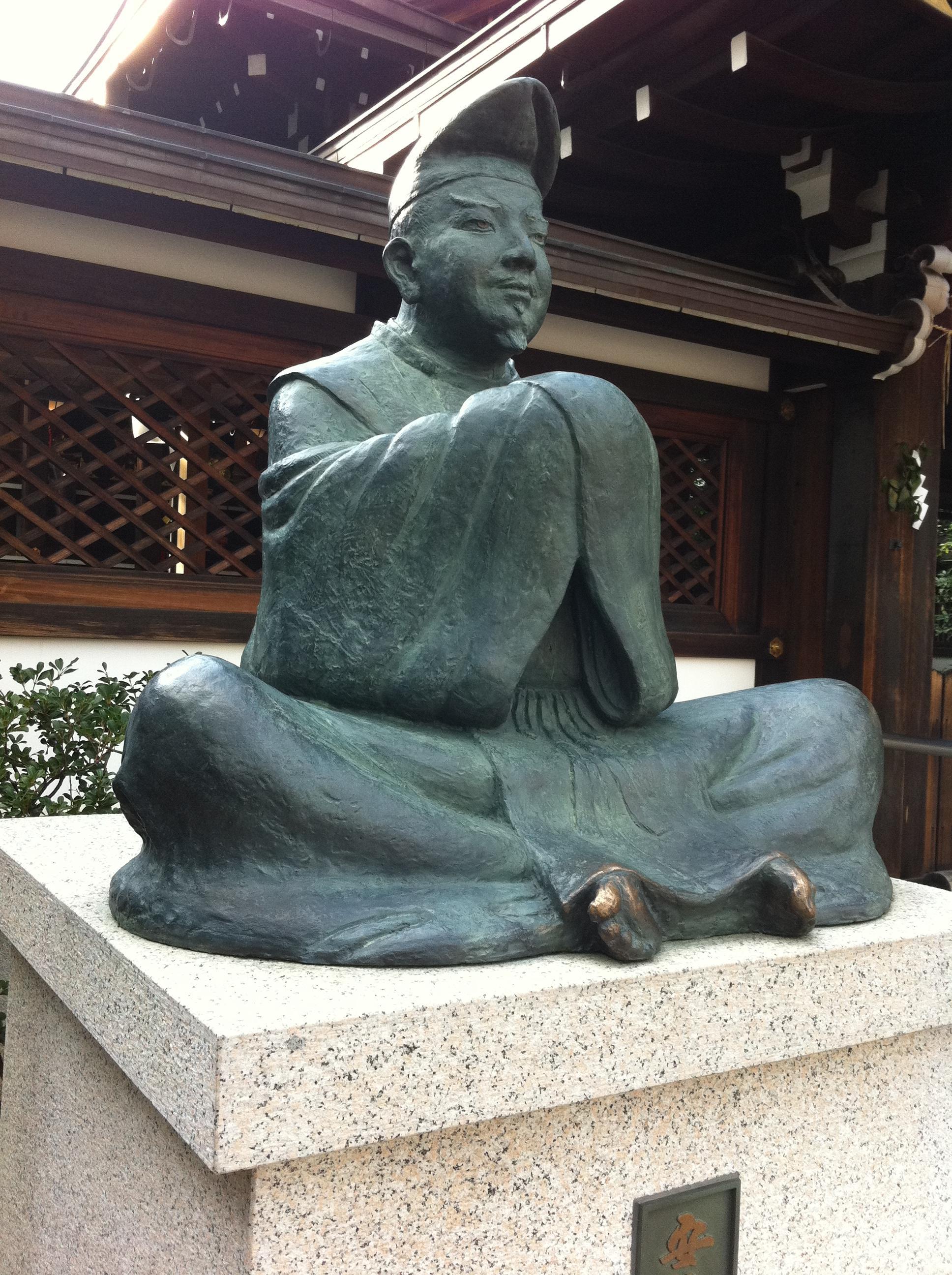 晴明神社の像