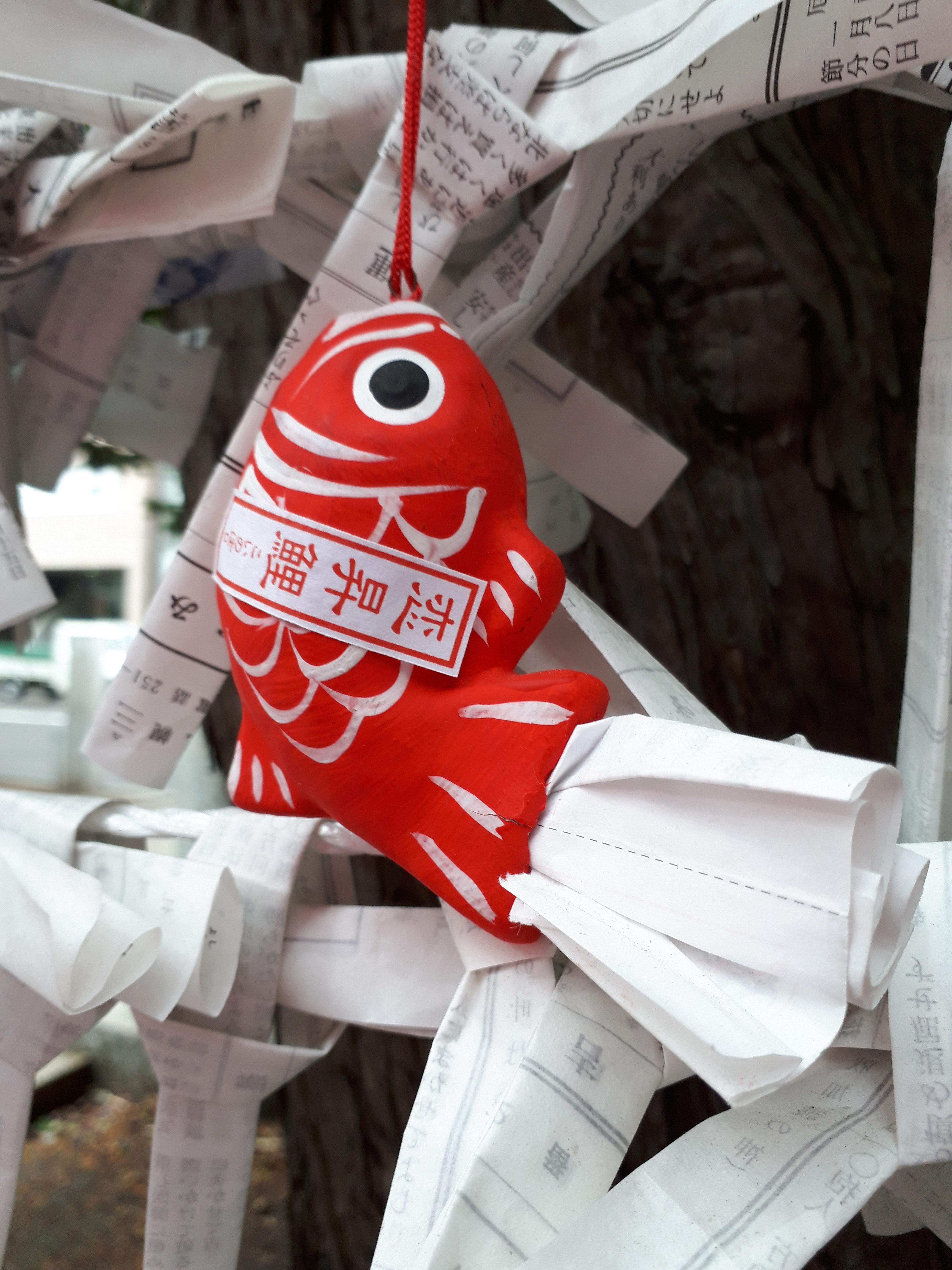 三吉神社のおみくじ