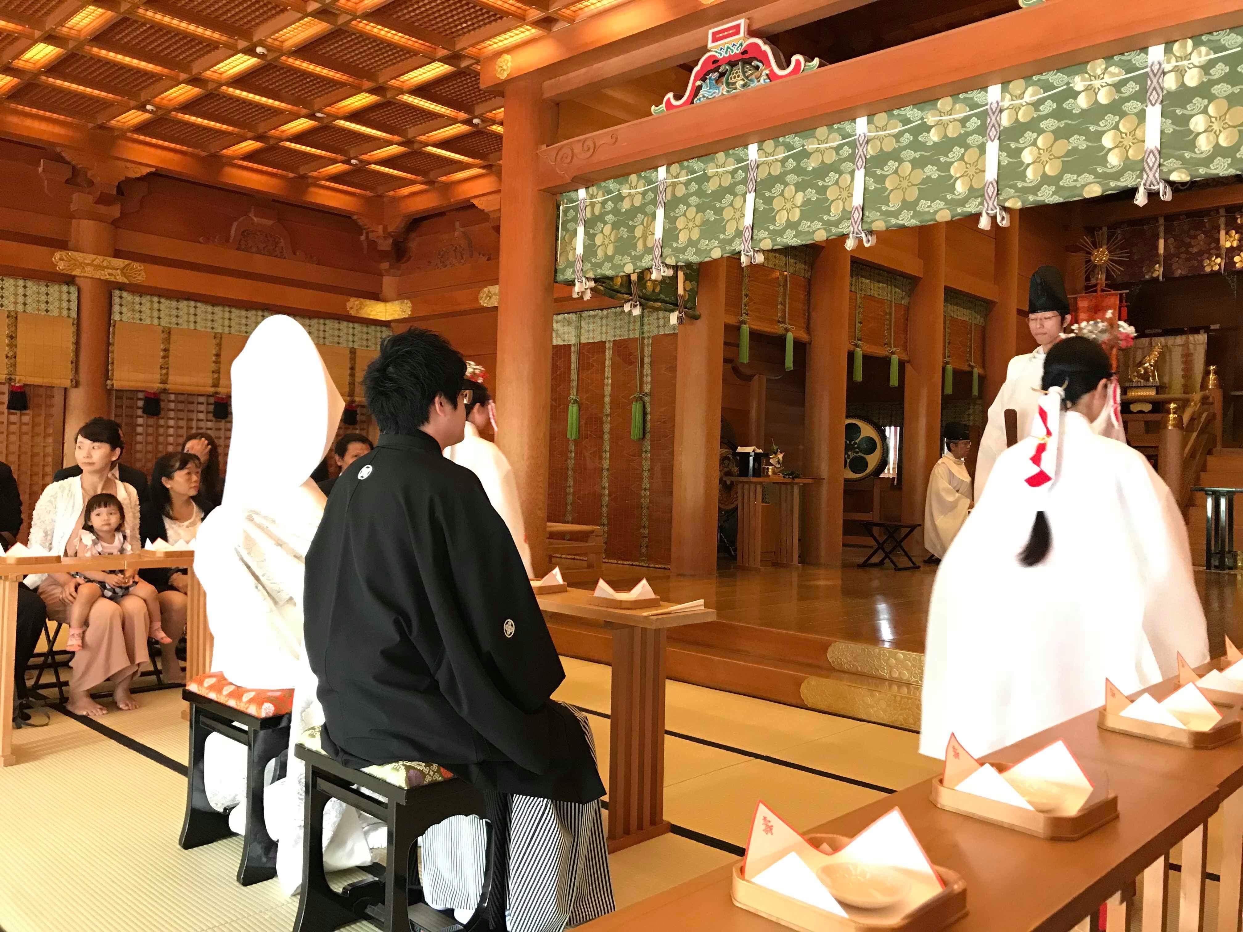 湯島天満宮の結婚式