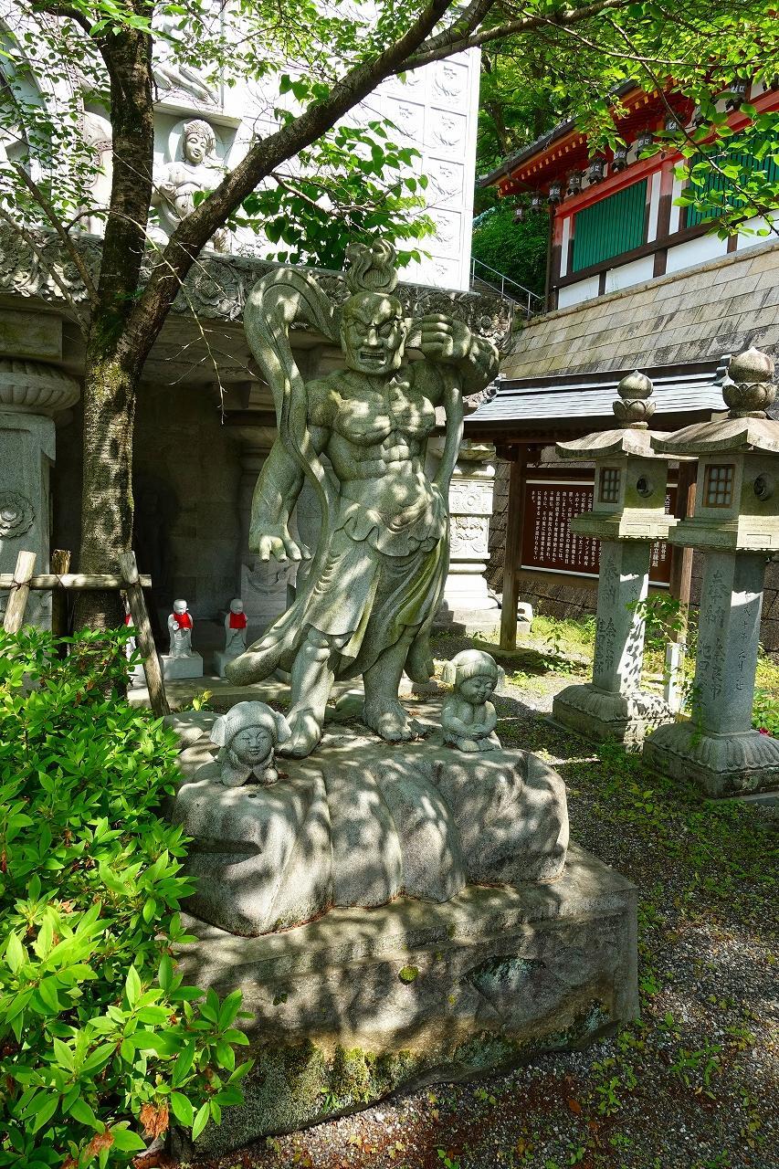 南法華寺(壷阪寺)の像