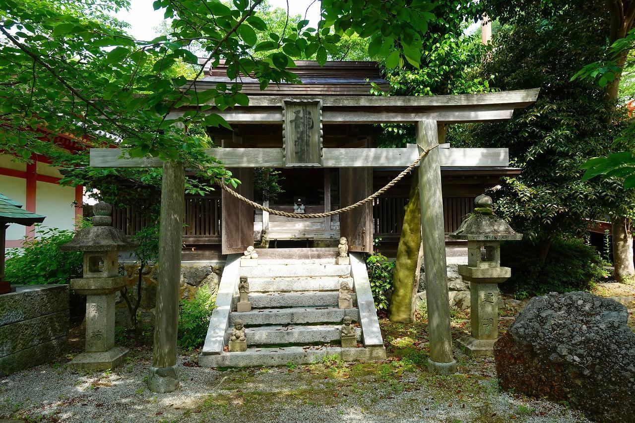 南法華寺(壷阪寺)の鳥居