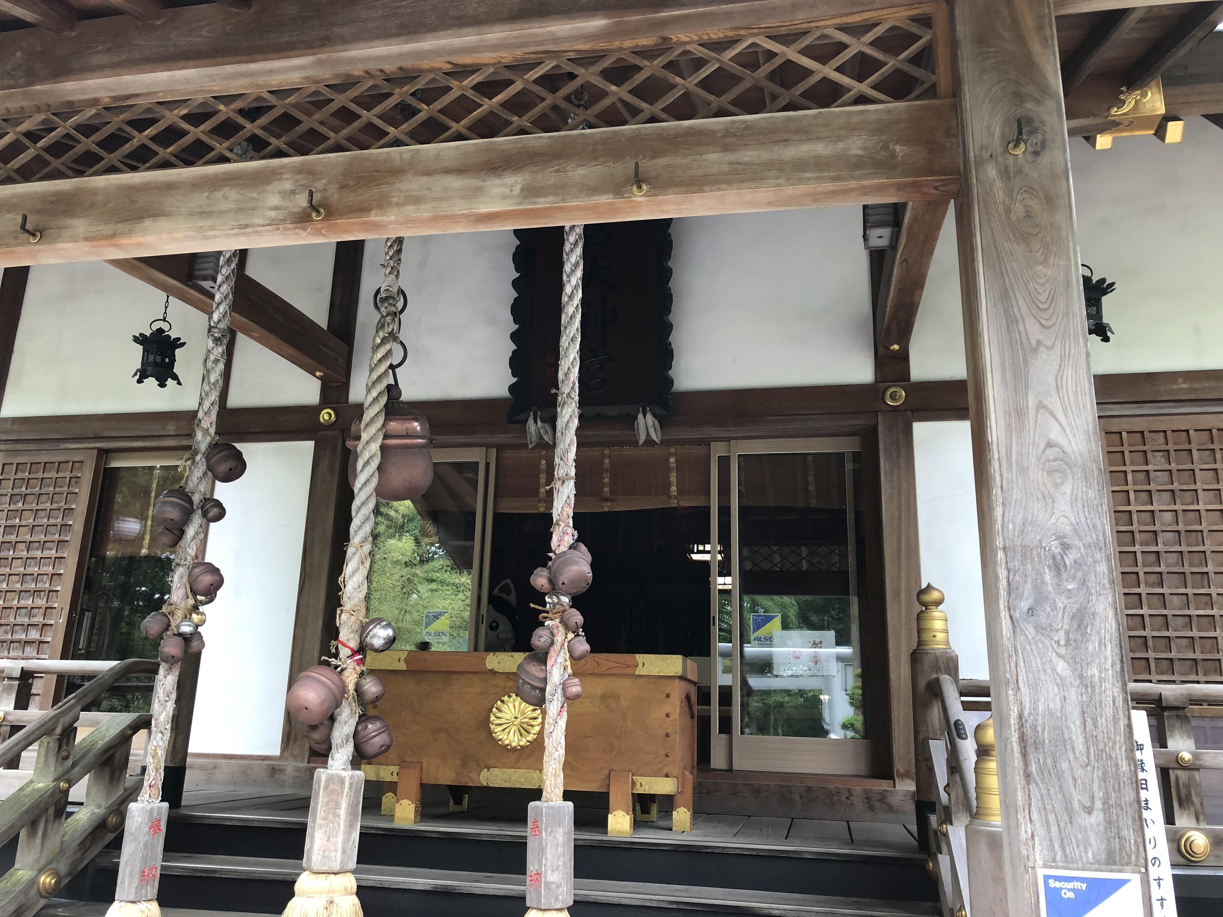 三戸大神宮の本殿