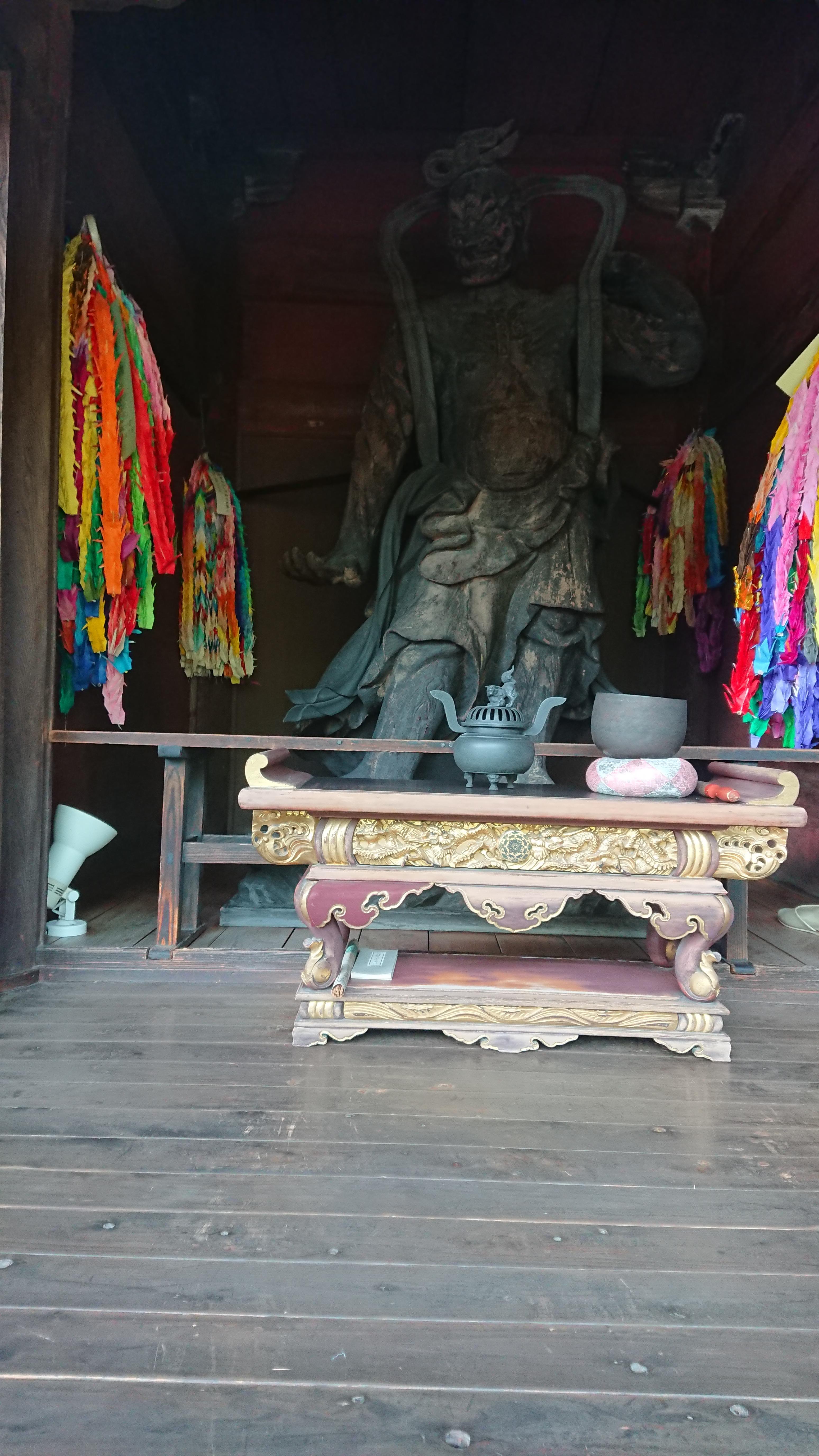圓融寺の像