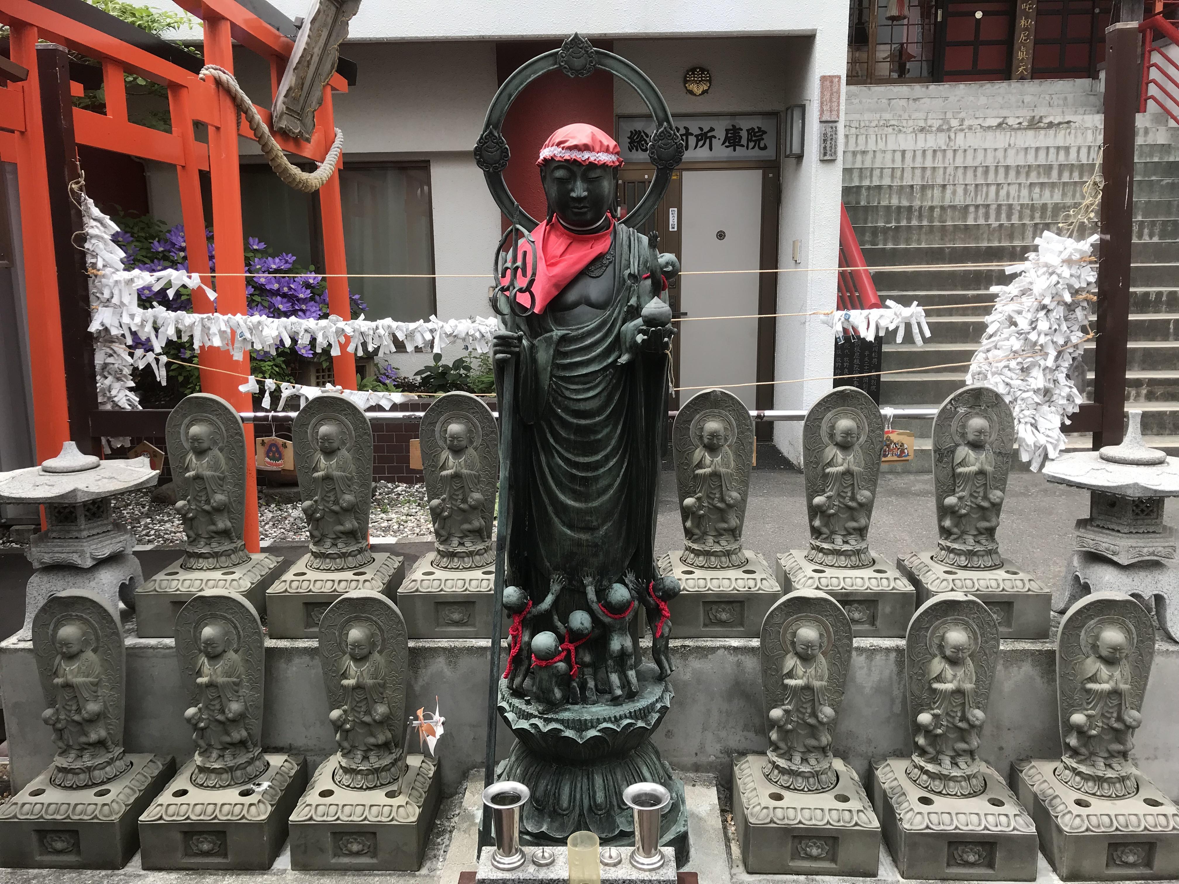 豊川稲荷札幌別院(玉宝禅寺)の地蔵