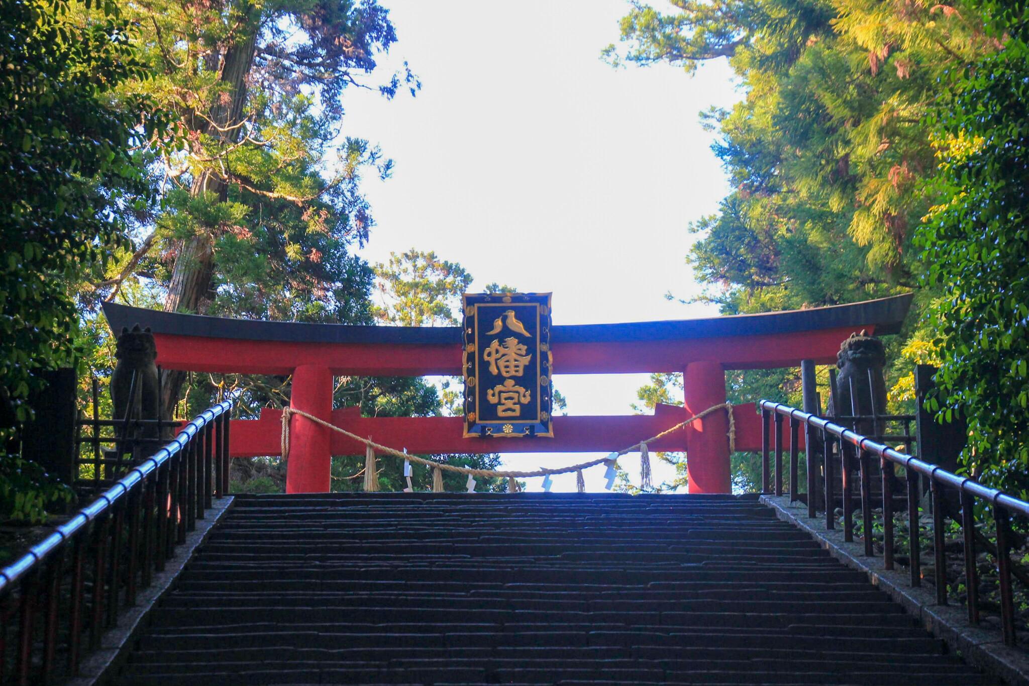 大崎八幡宮の鳥居