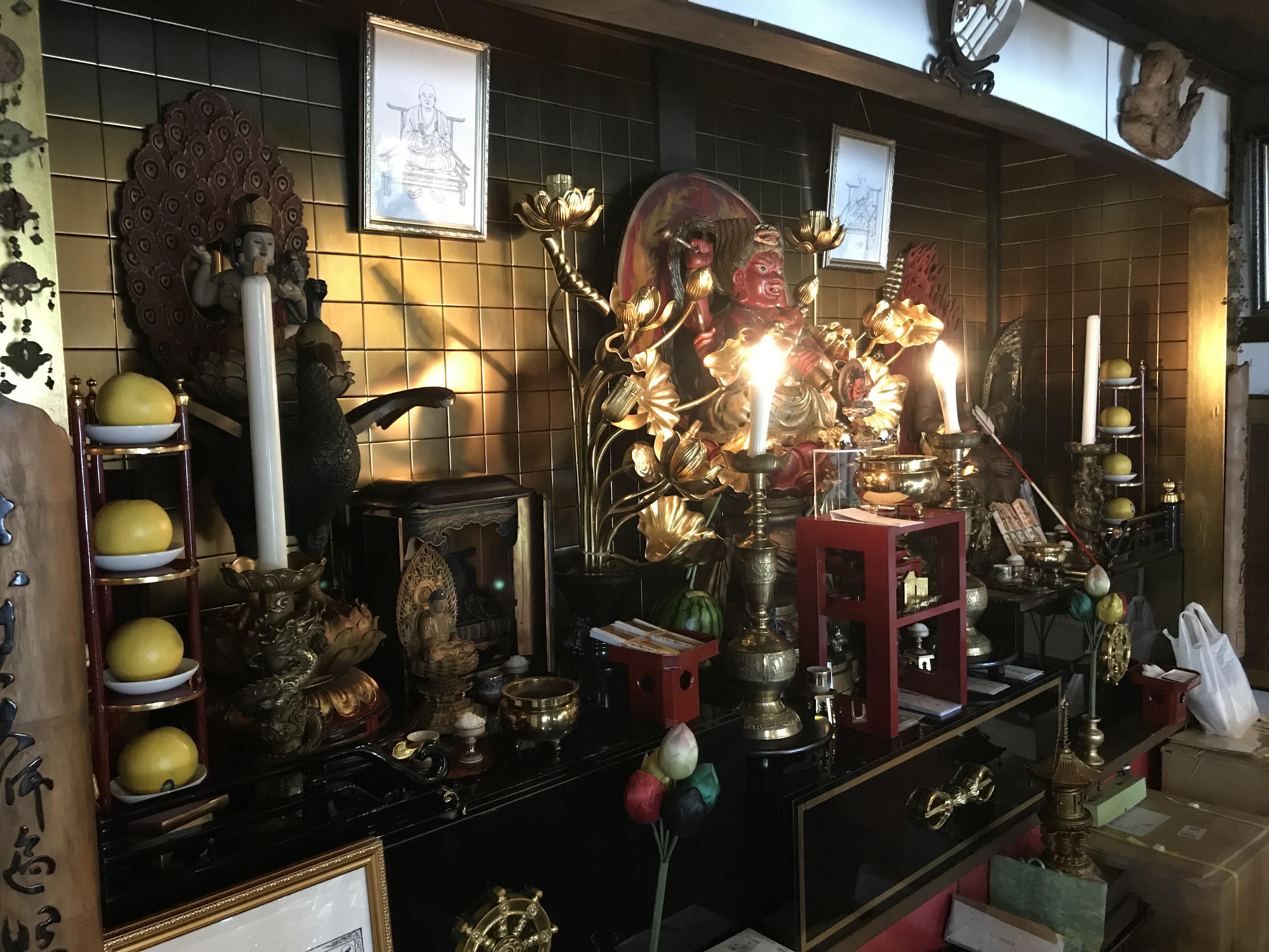 聖道寺の仏像