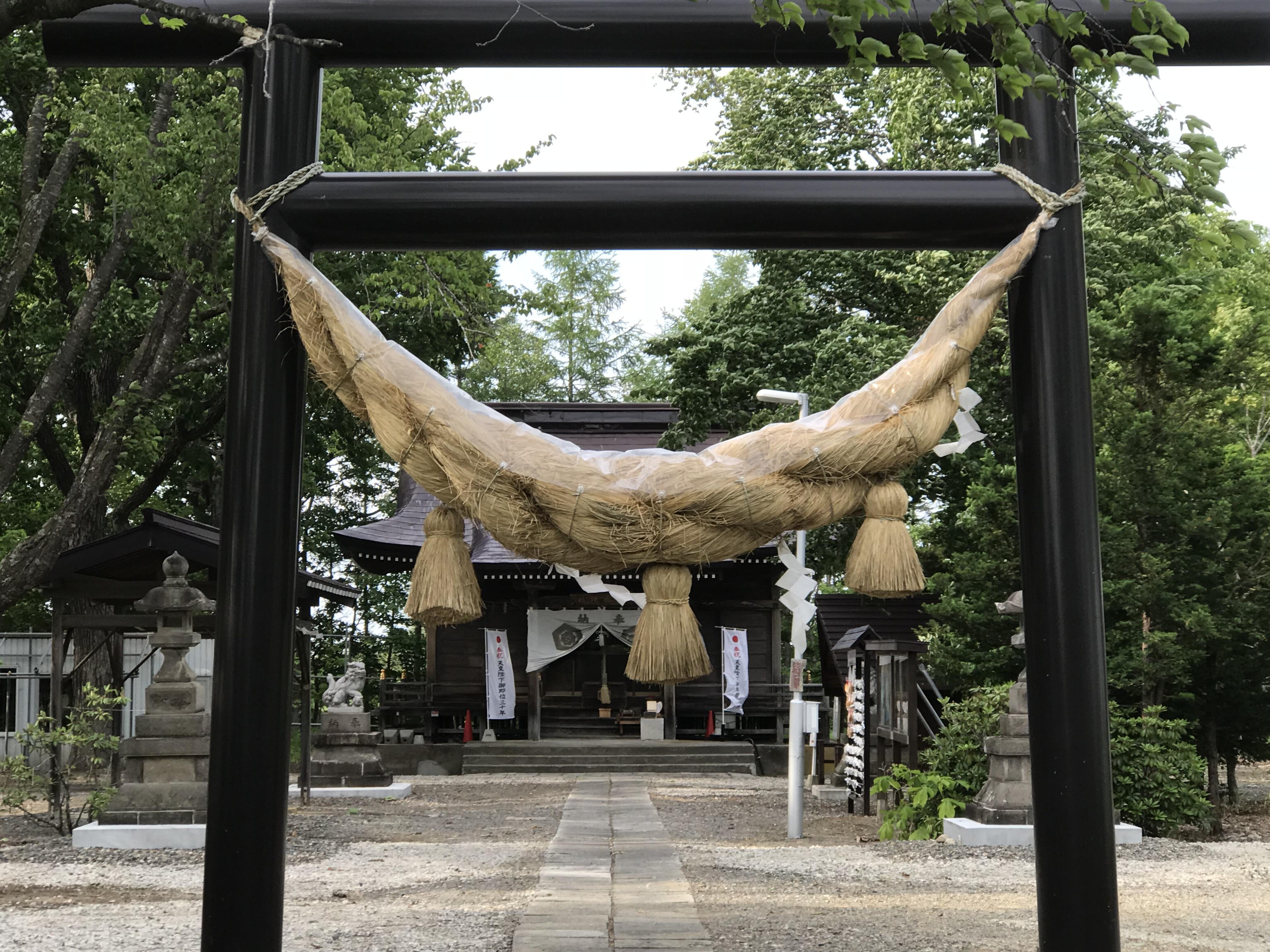 愛国神社の境内・文化財