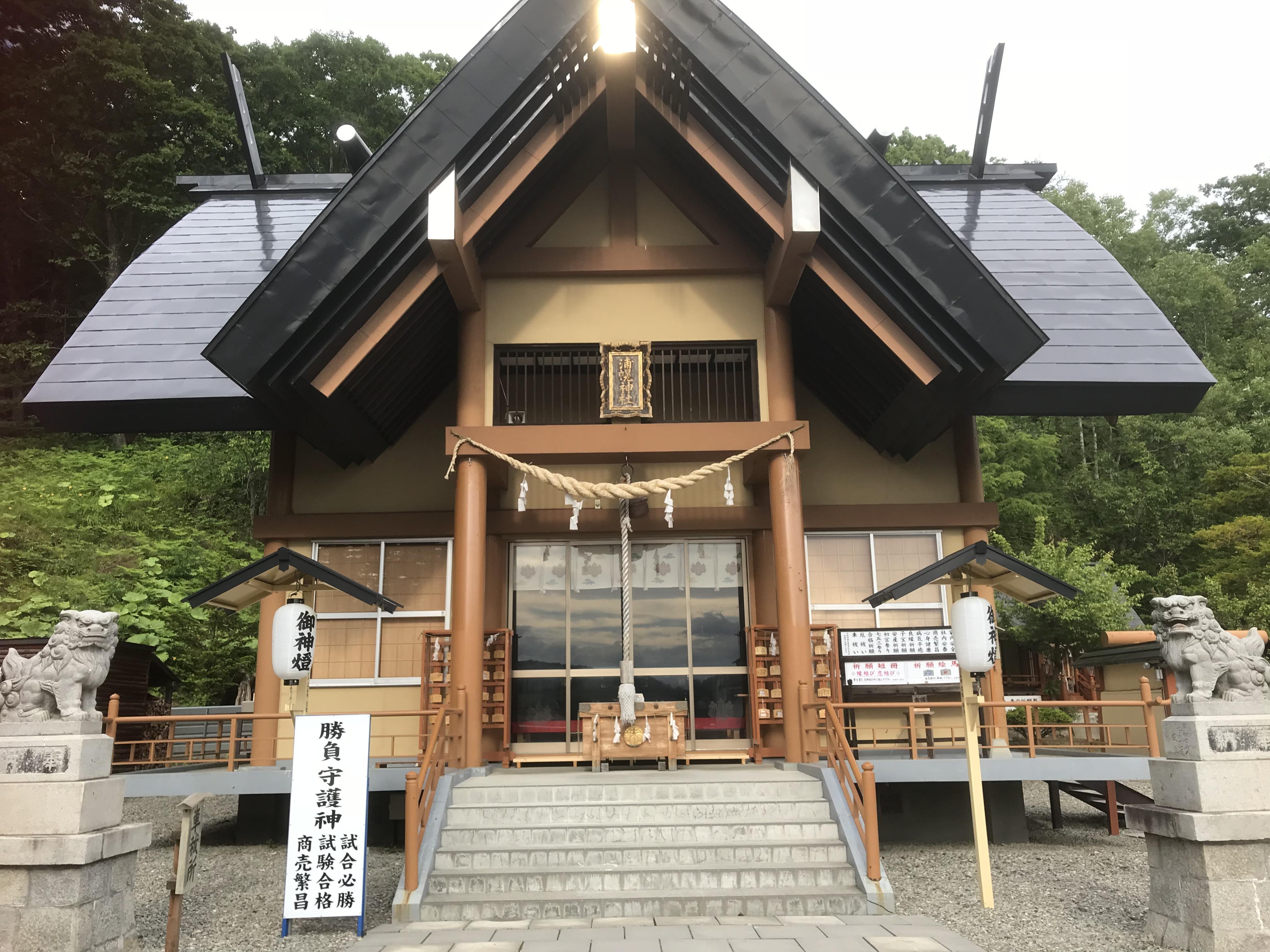 浦幌神社の本殿