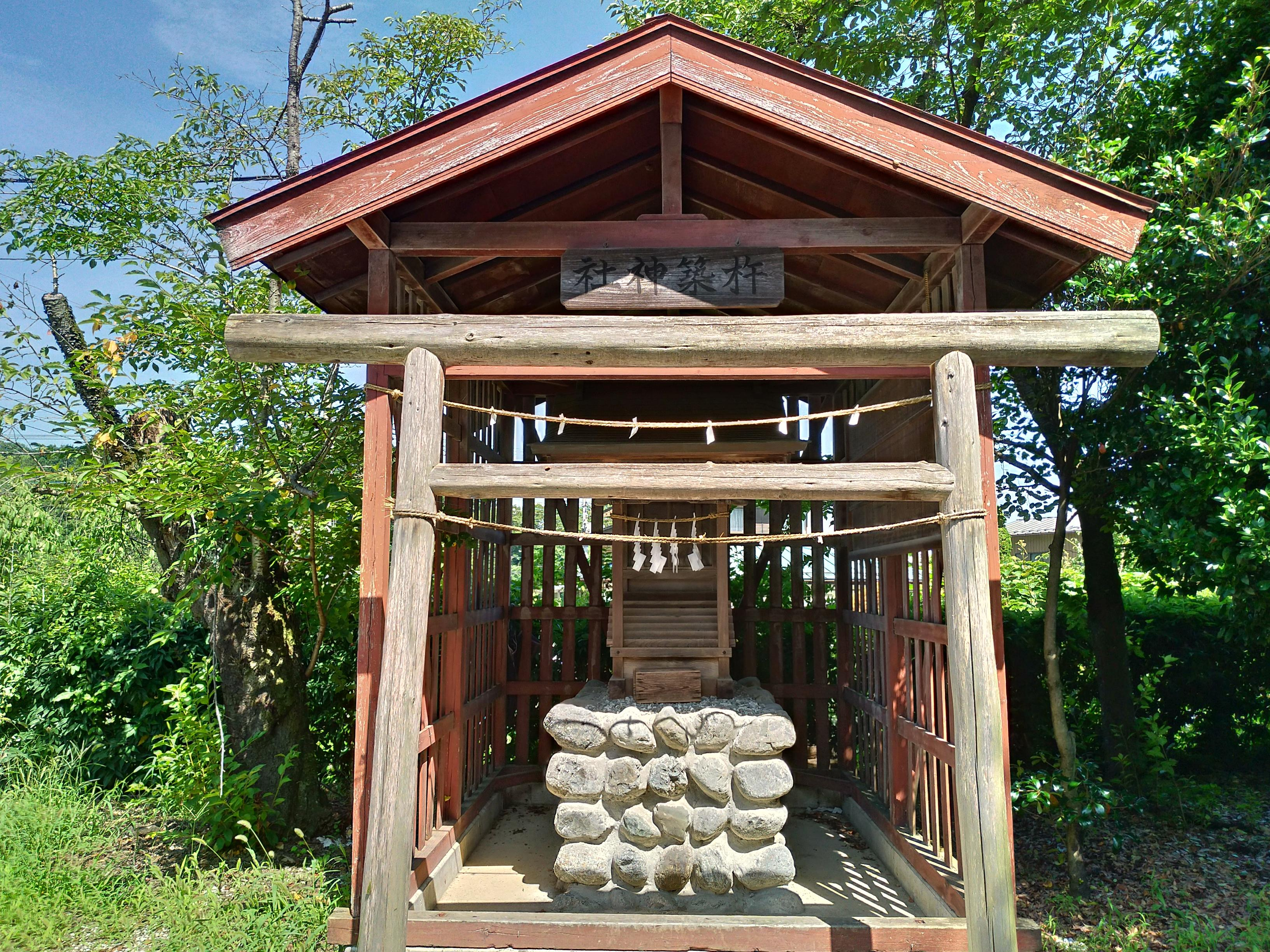 武甲山御嶽神社里宮の末社