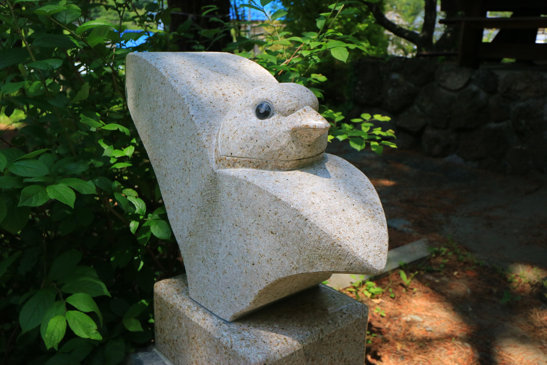 山家神社の狛犬