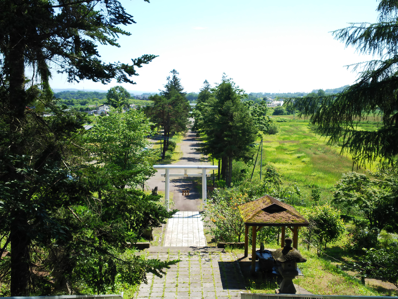 金刀比羅神社の景色