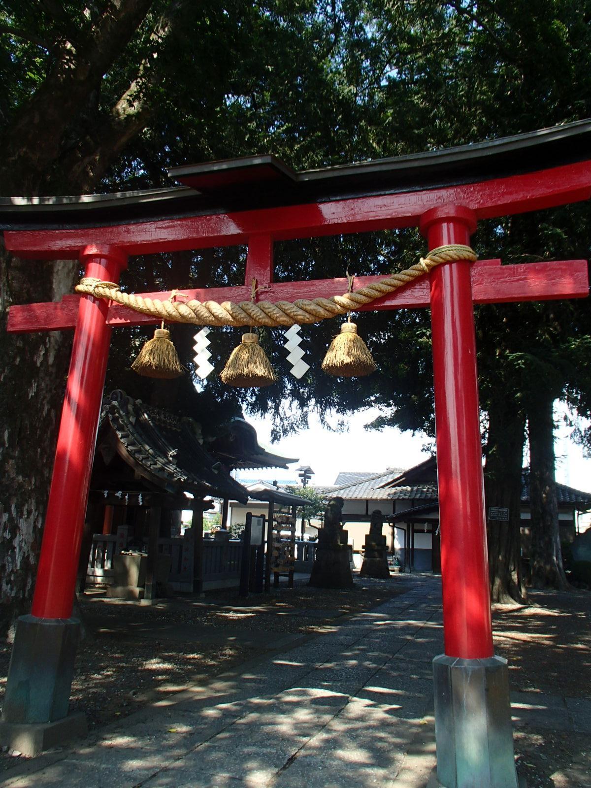 天神社の鳥居