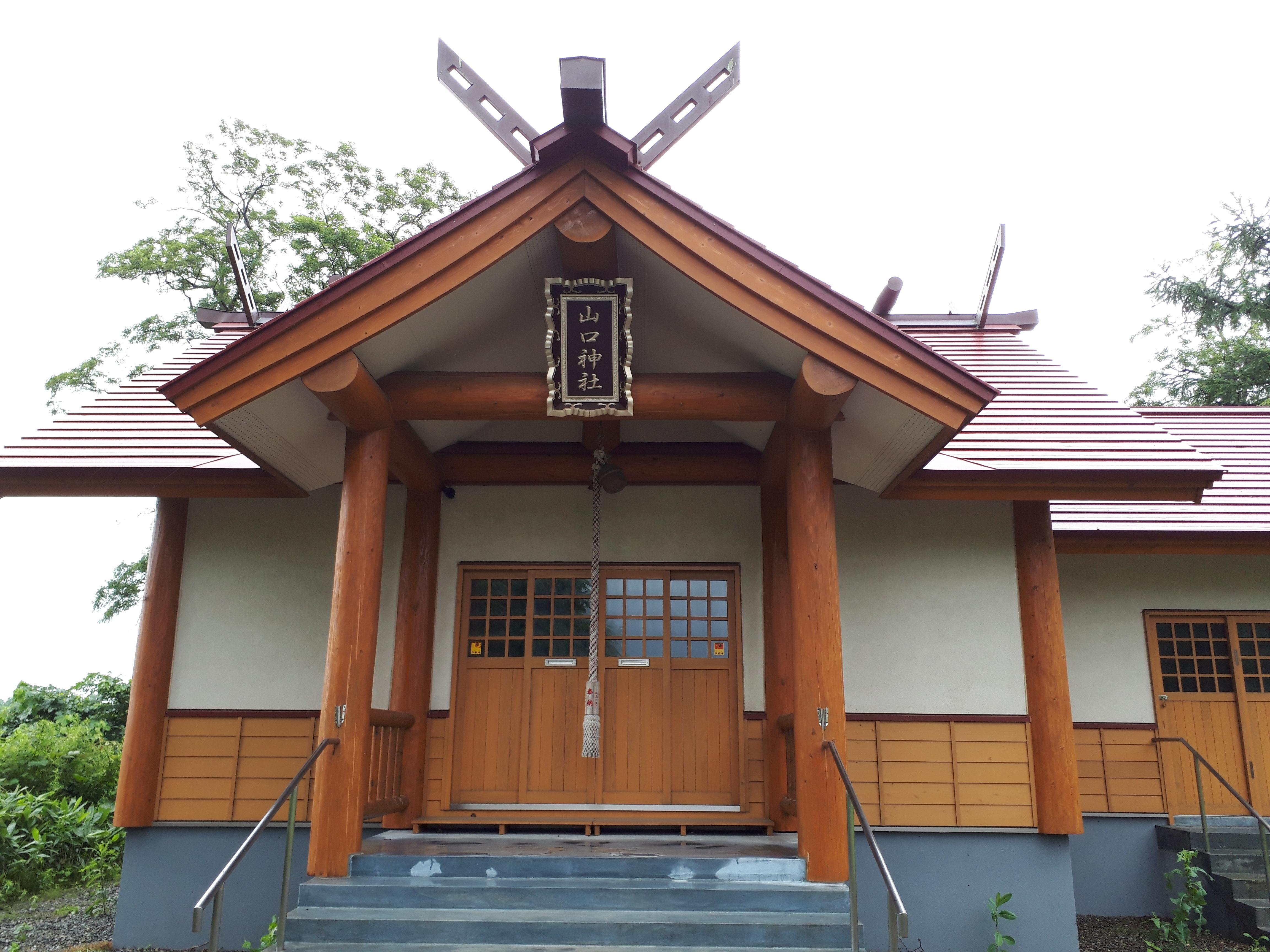 山口神社の本殿