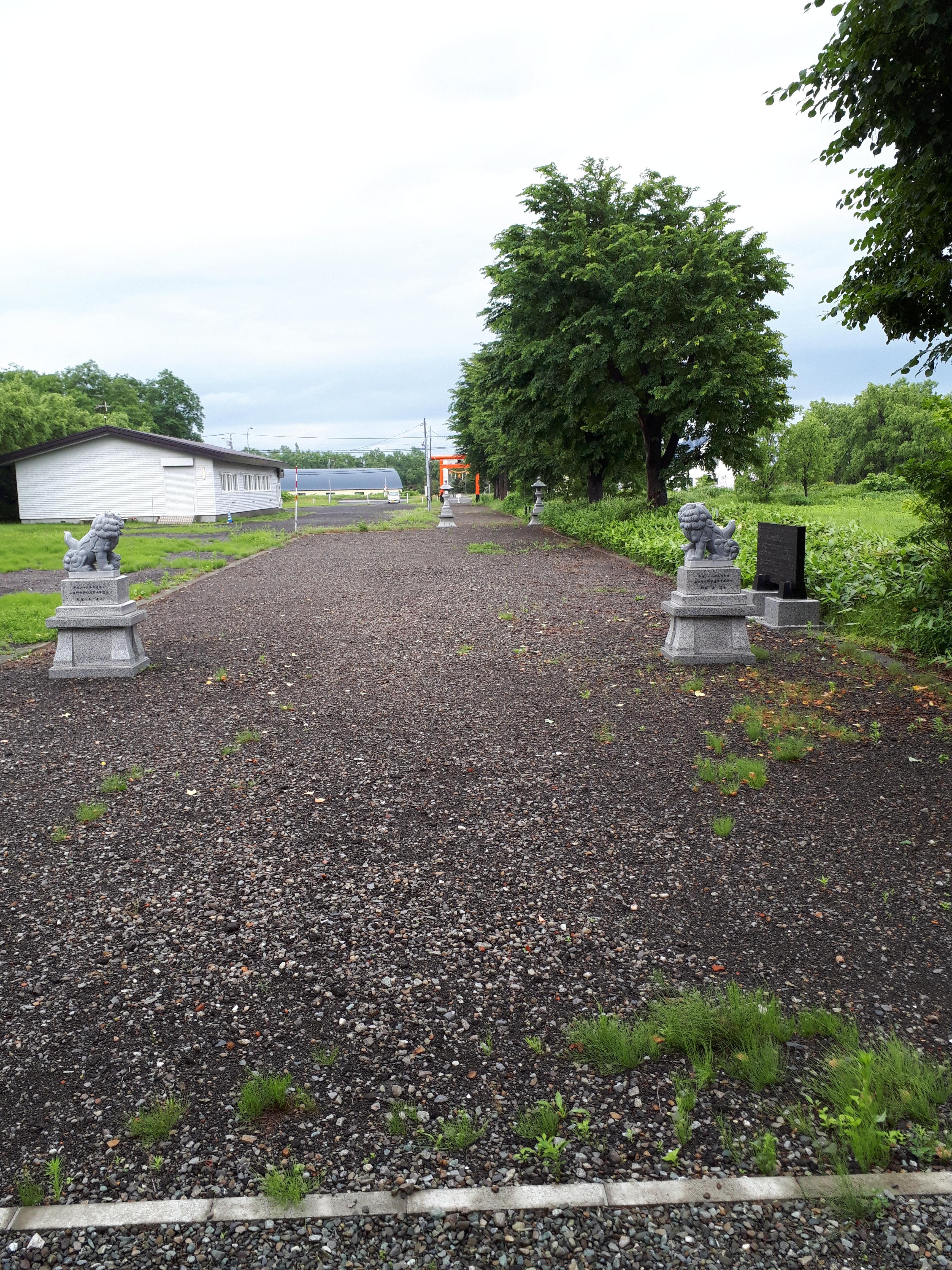 山口神社の境内・文化財