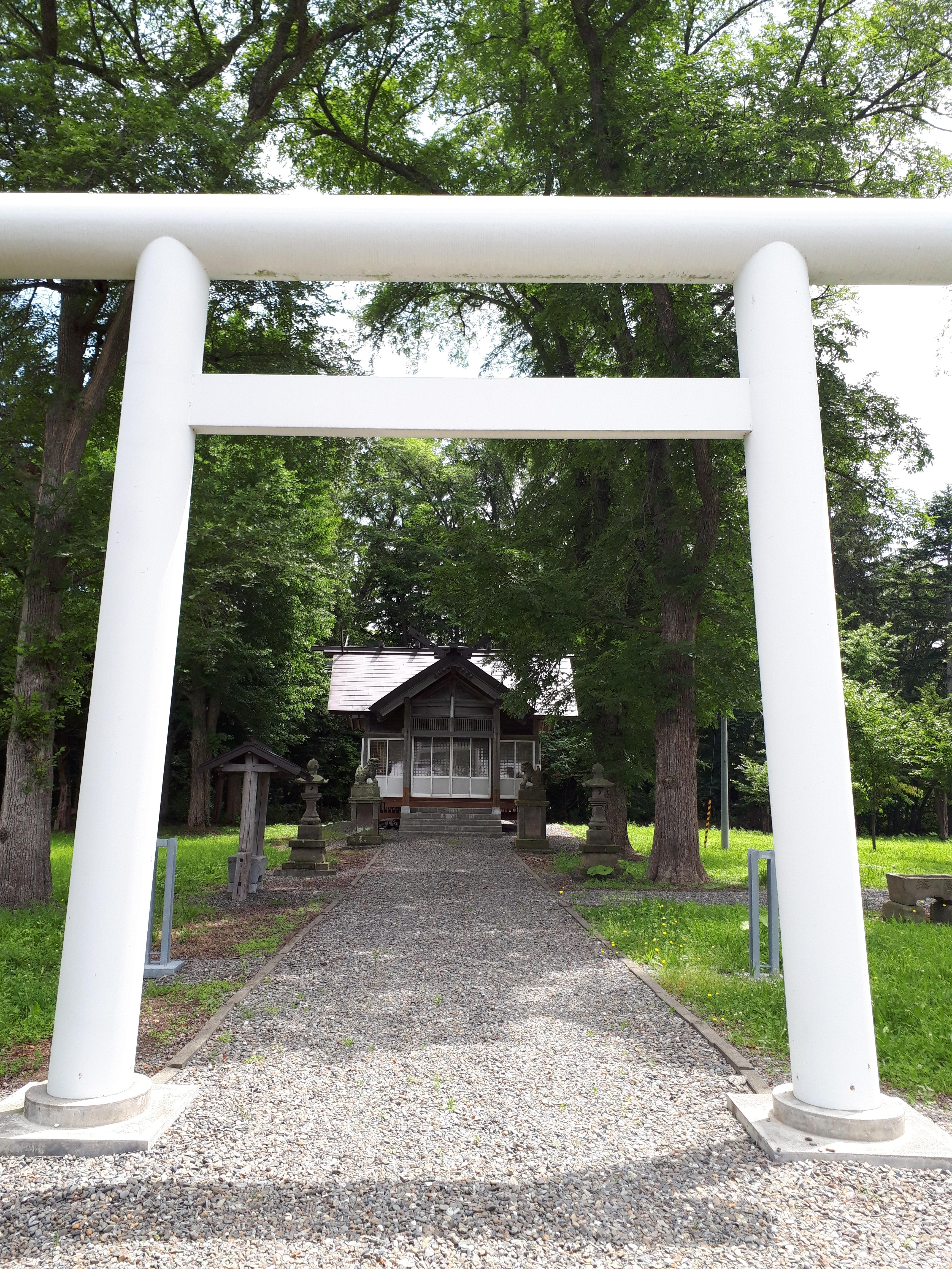 辨華別神社の鳥居