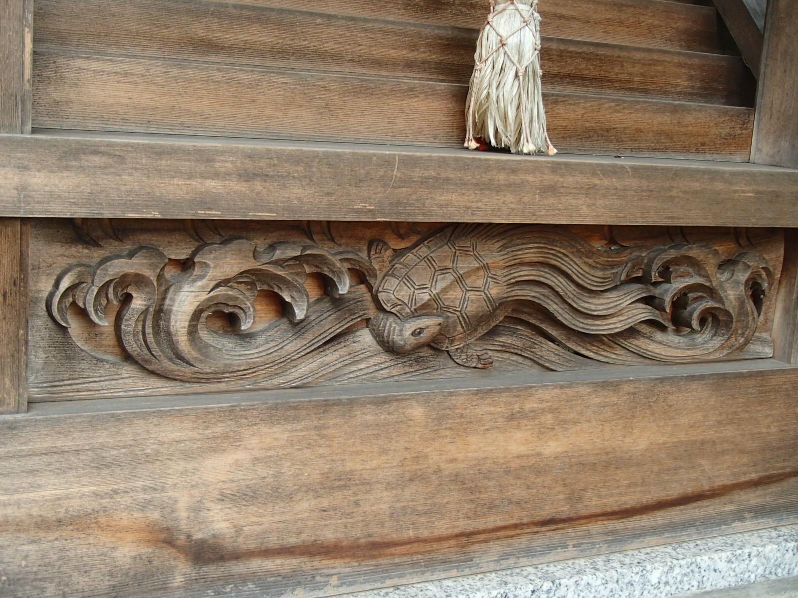 茅野稲荷神社の芸術