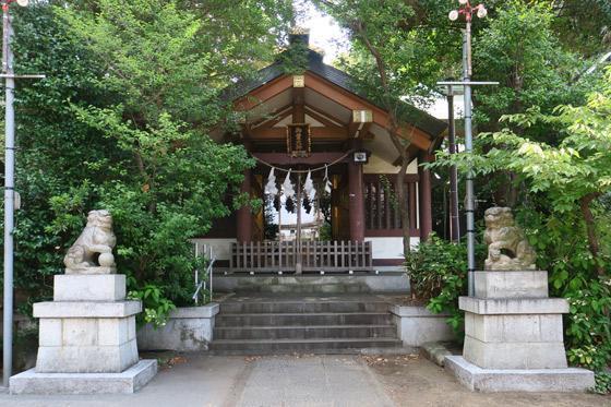 御霊神社の本殿・本堂(東京都落合南長崎駅)