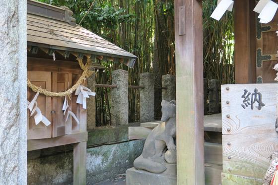 御霊神社の狛犬(東京都落合南長崎駅)