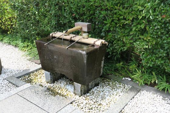 恵比寿神社の手水