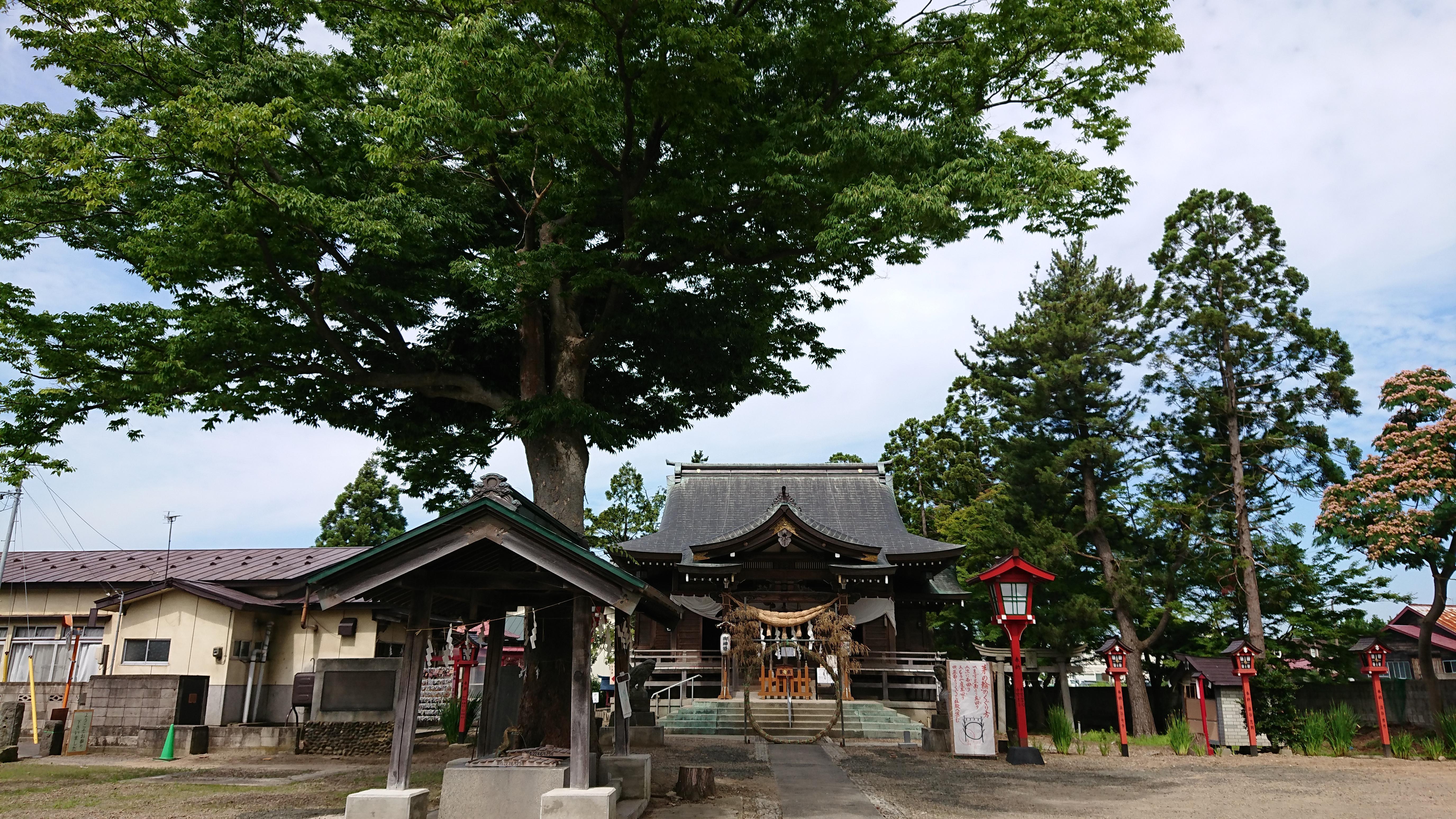 鶴田八幡宮の建物その他