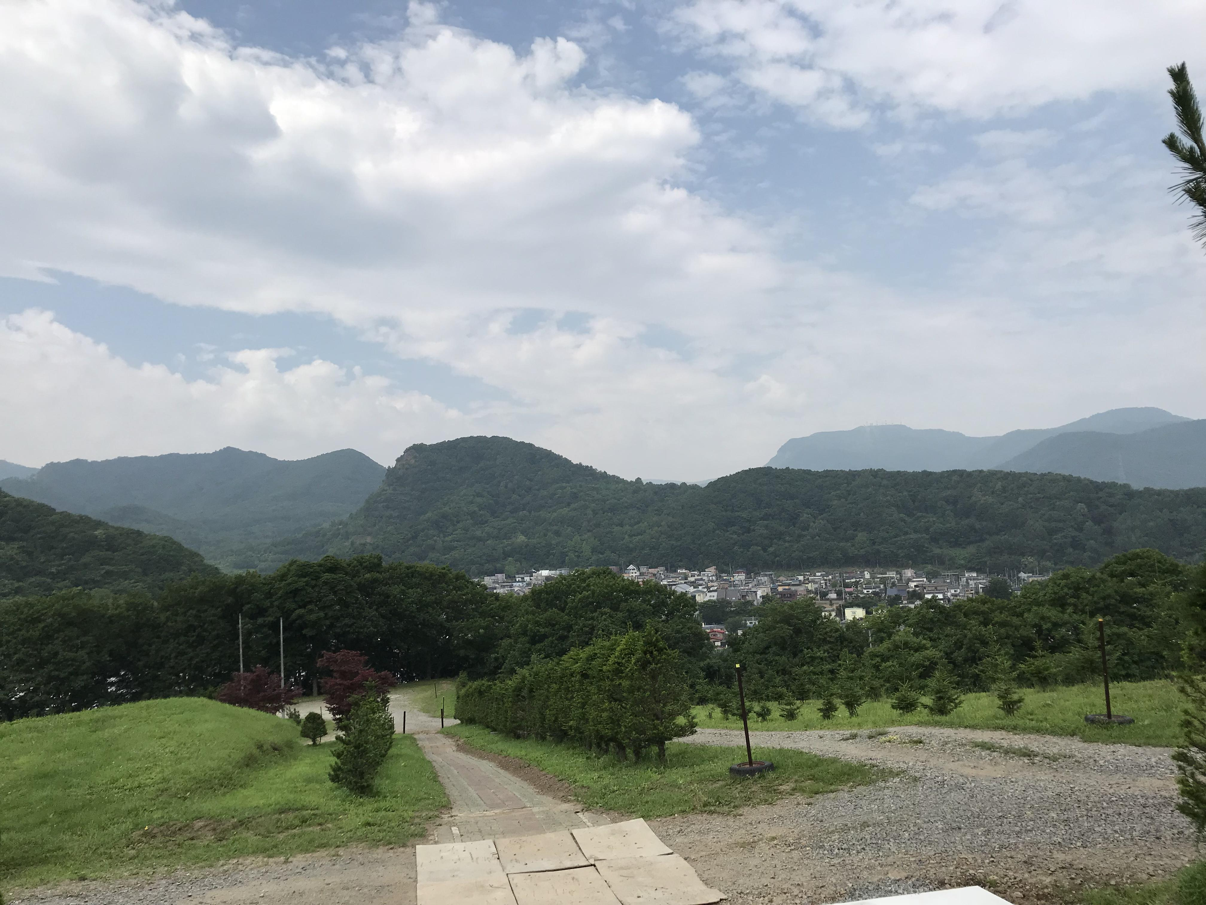 札幌御嶽神社の景色