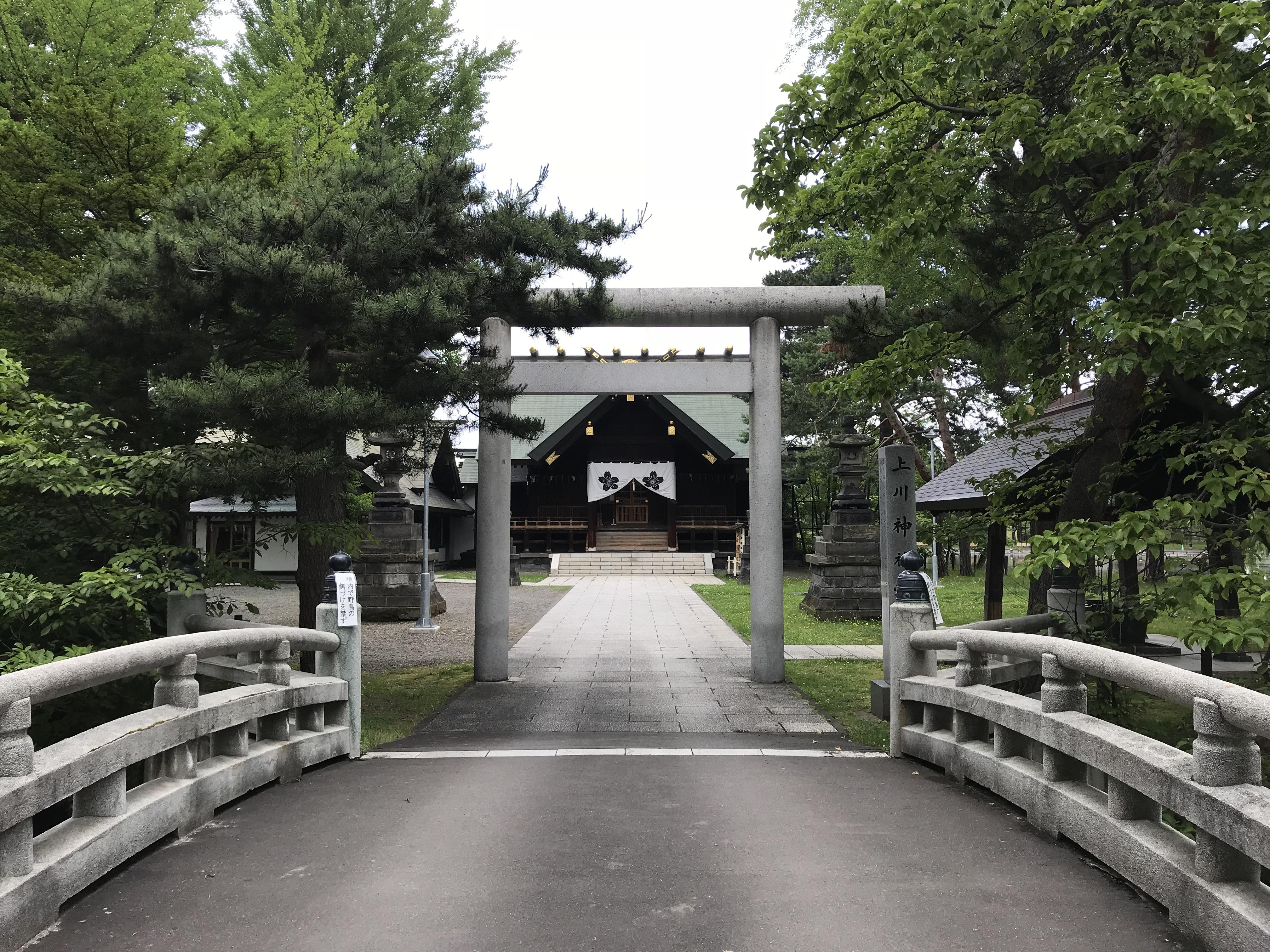 上川神社頓宮の境内・文化財