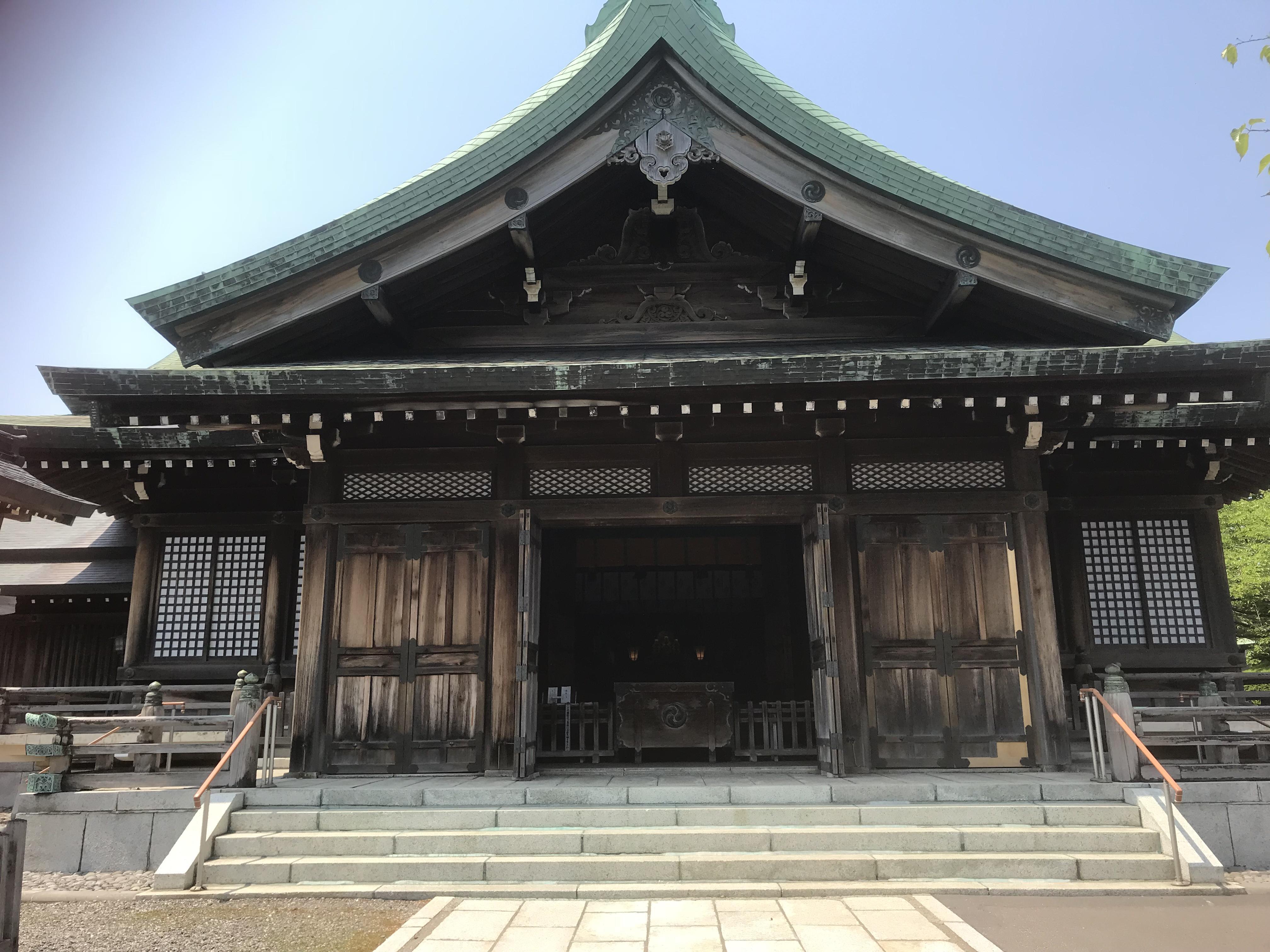 室蘭八幡宮の本殿・本堂(北海道室蘭駅)