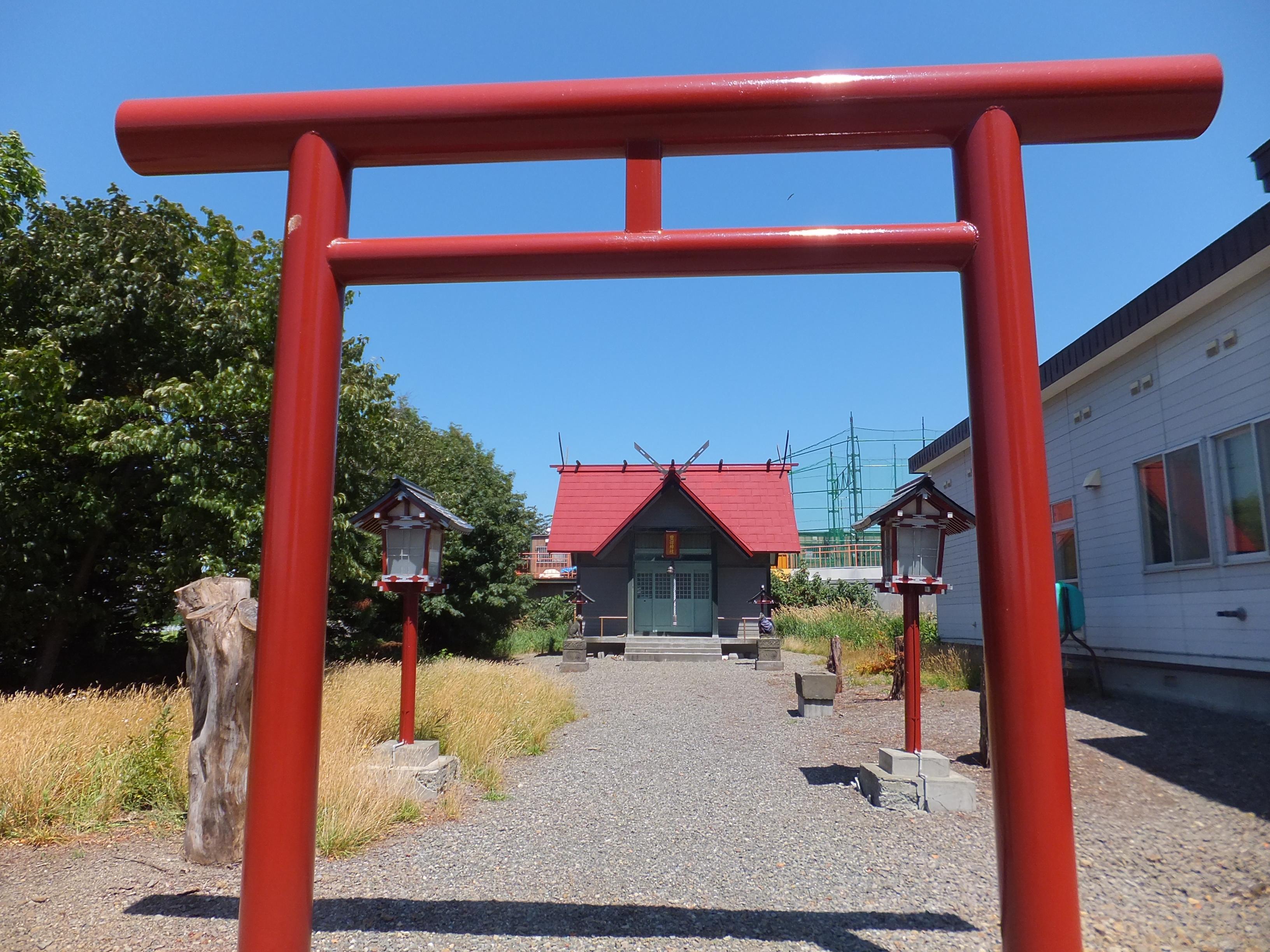 豊畑神社の鳥居