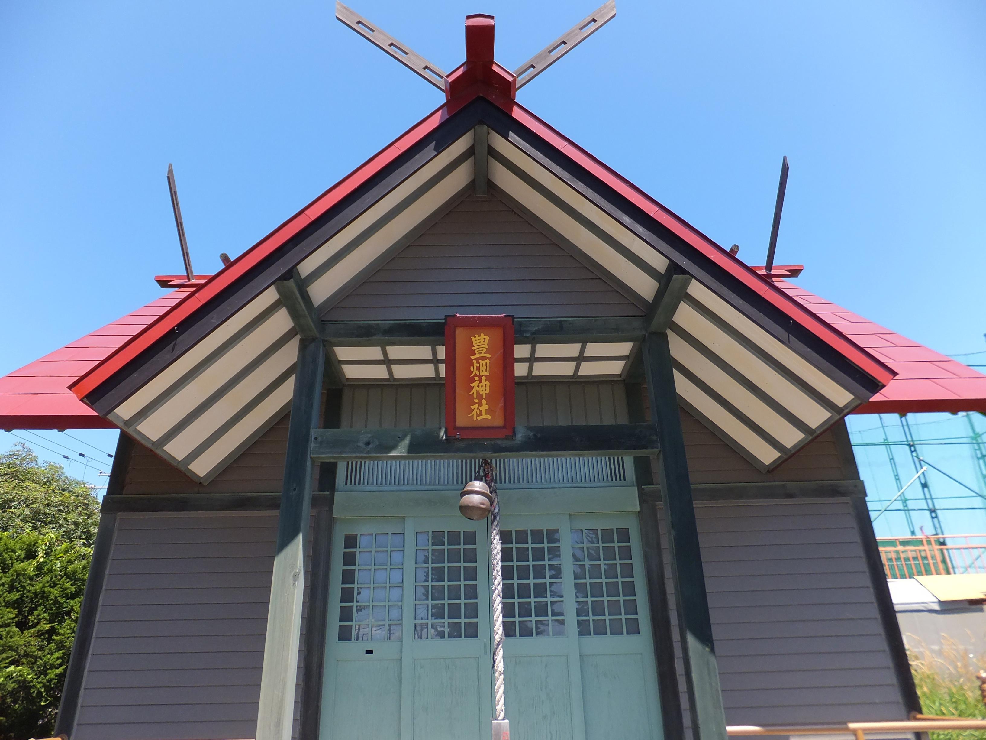 豊畑神社の本殿