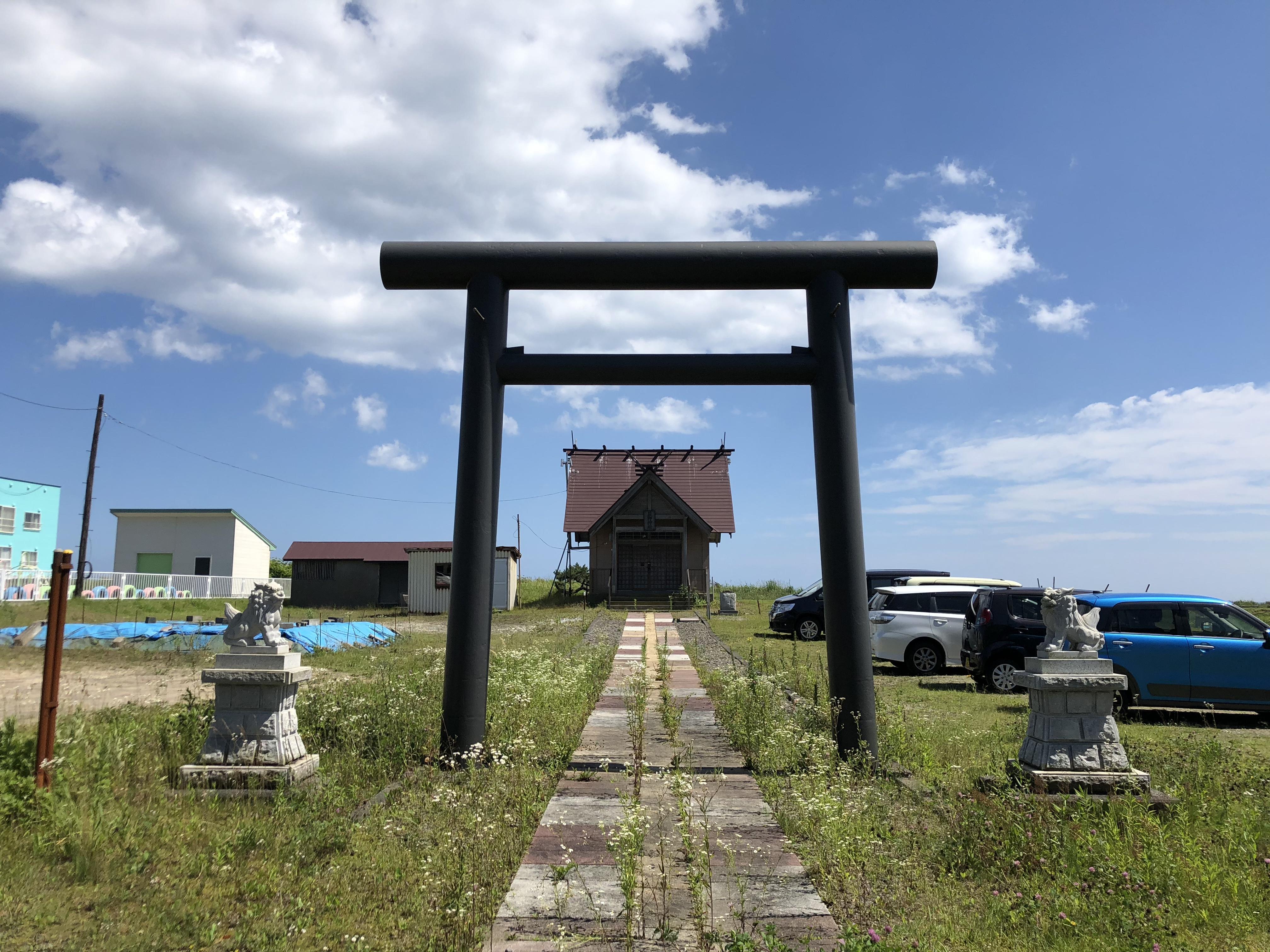 萩野神社の境内・文化財
