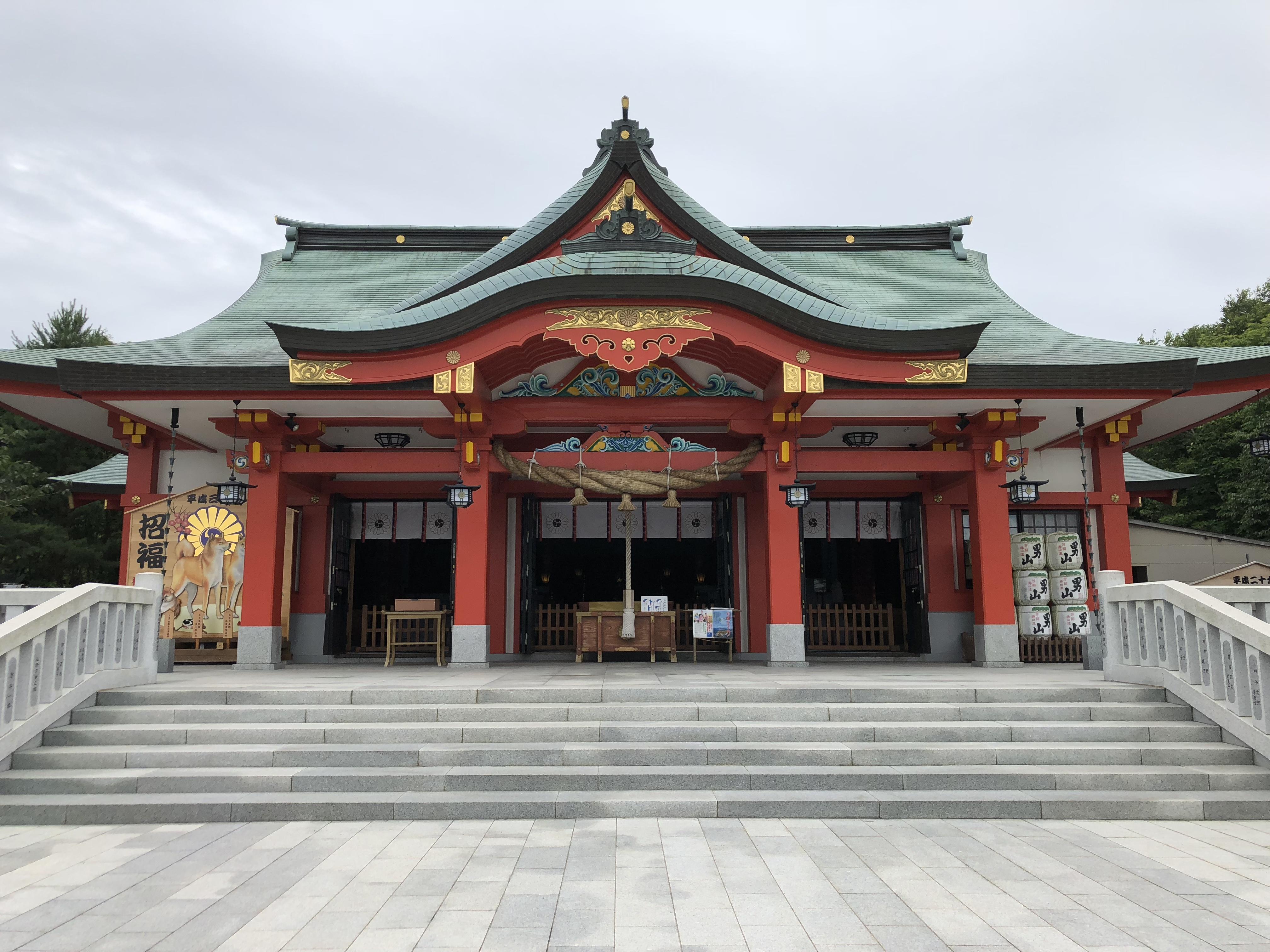 樽前山神社の境内・文化財