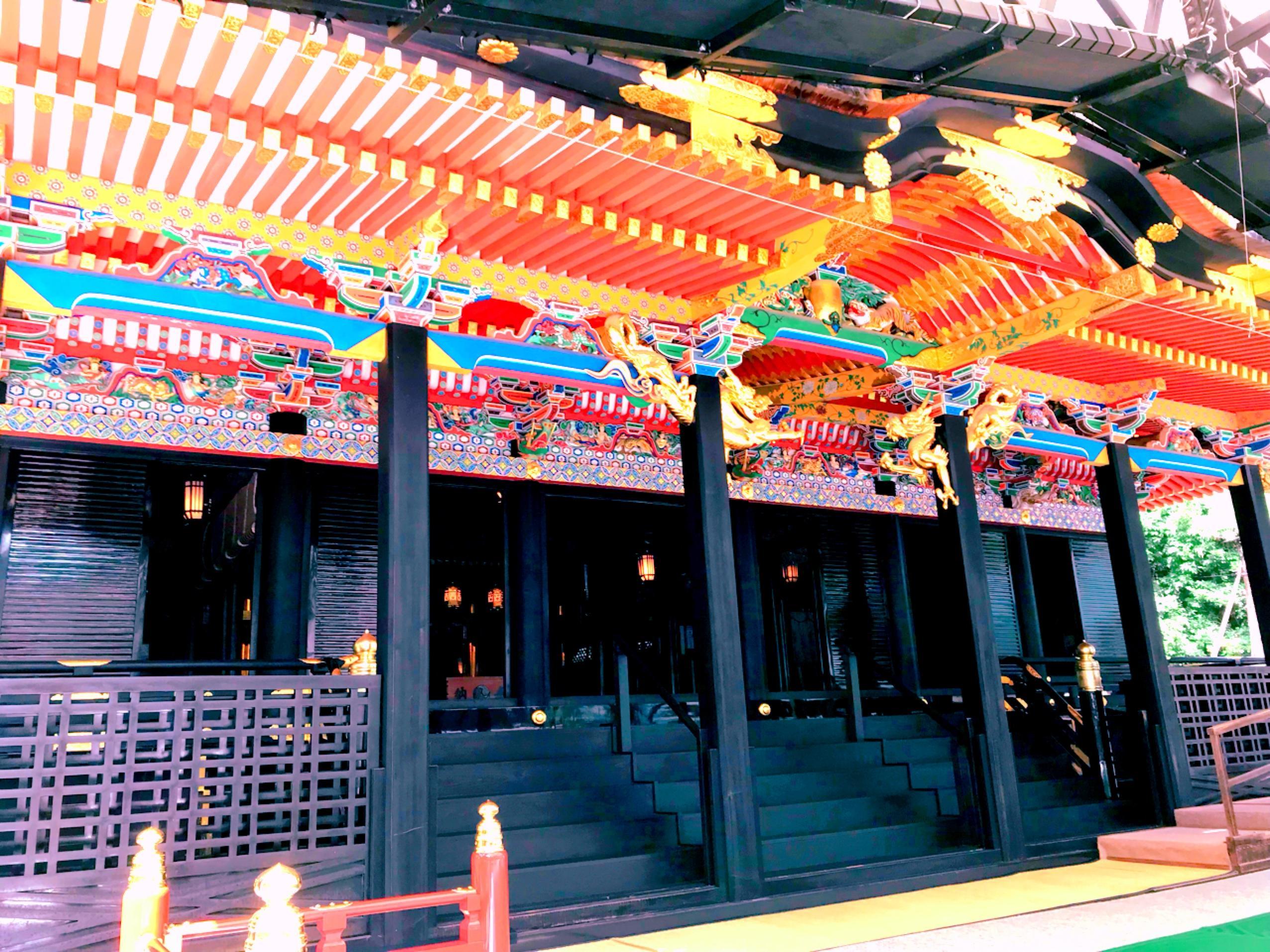 大崎八幡宮の本殿