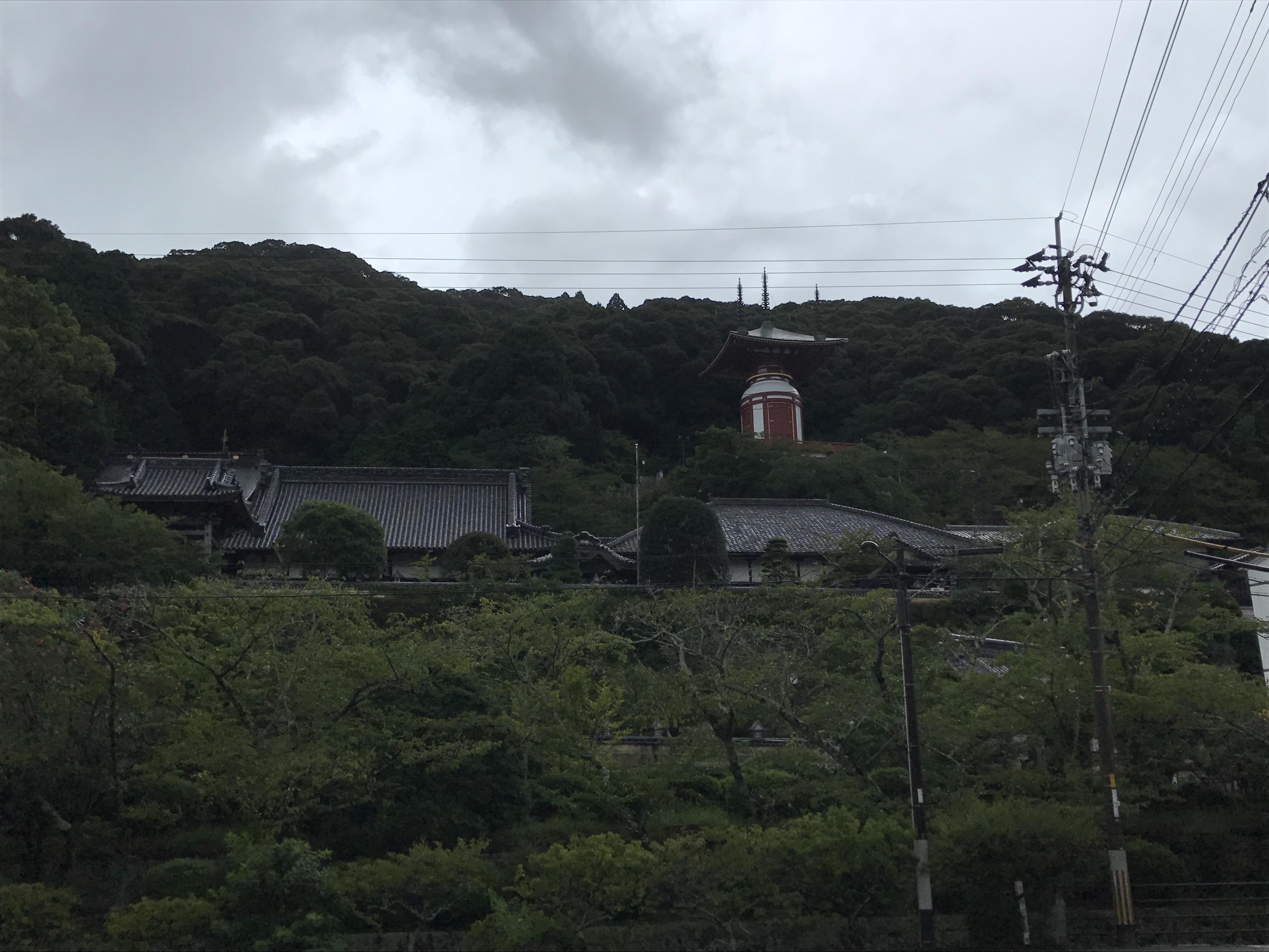 薬王寺の周辺