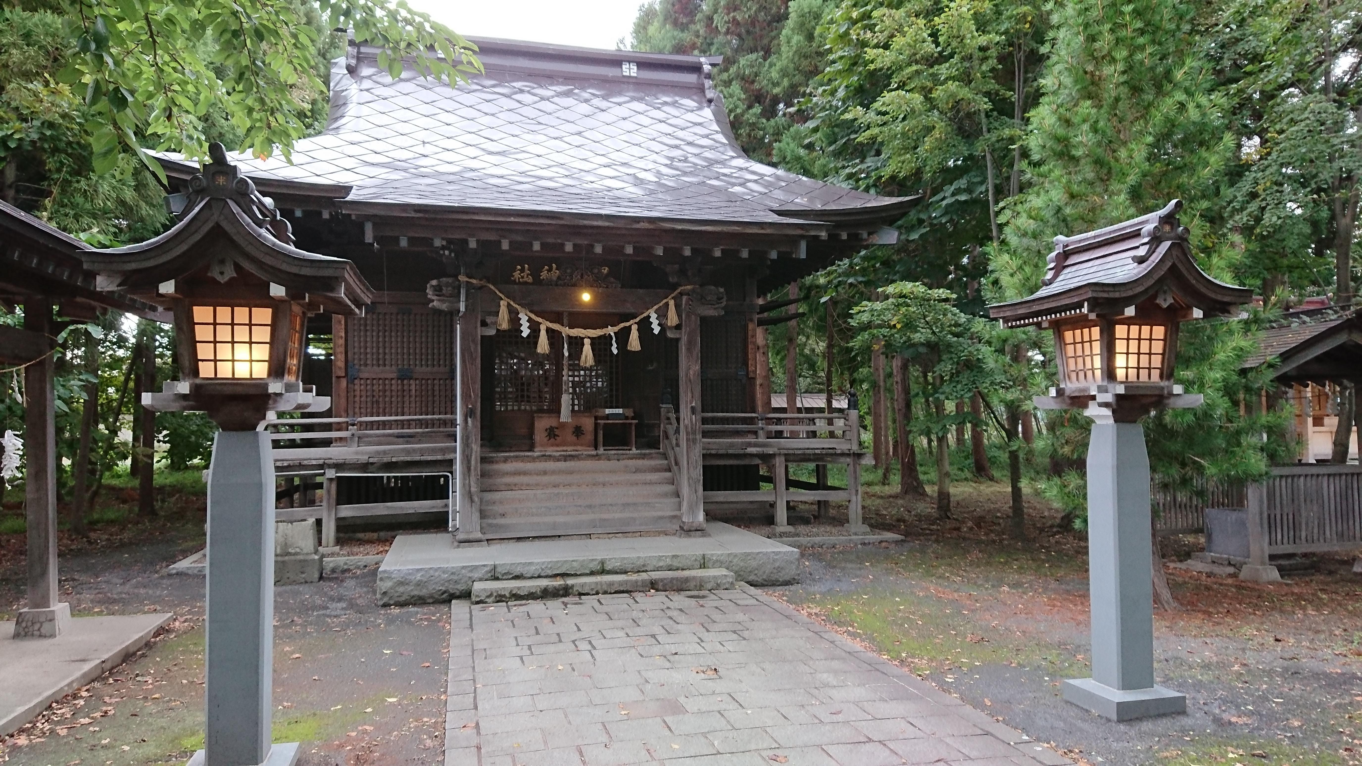黒石神社の本殿