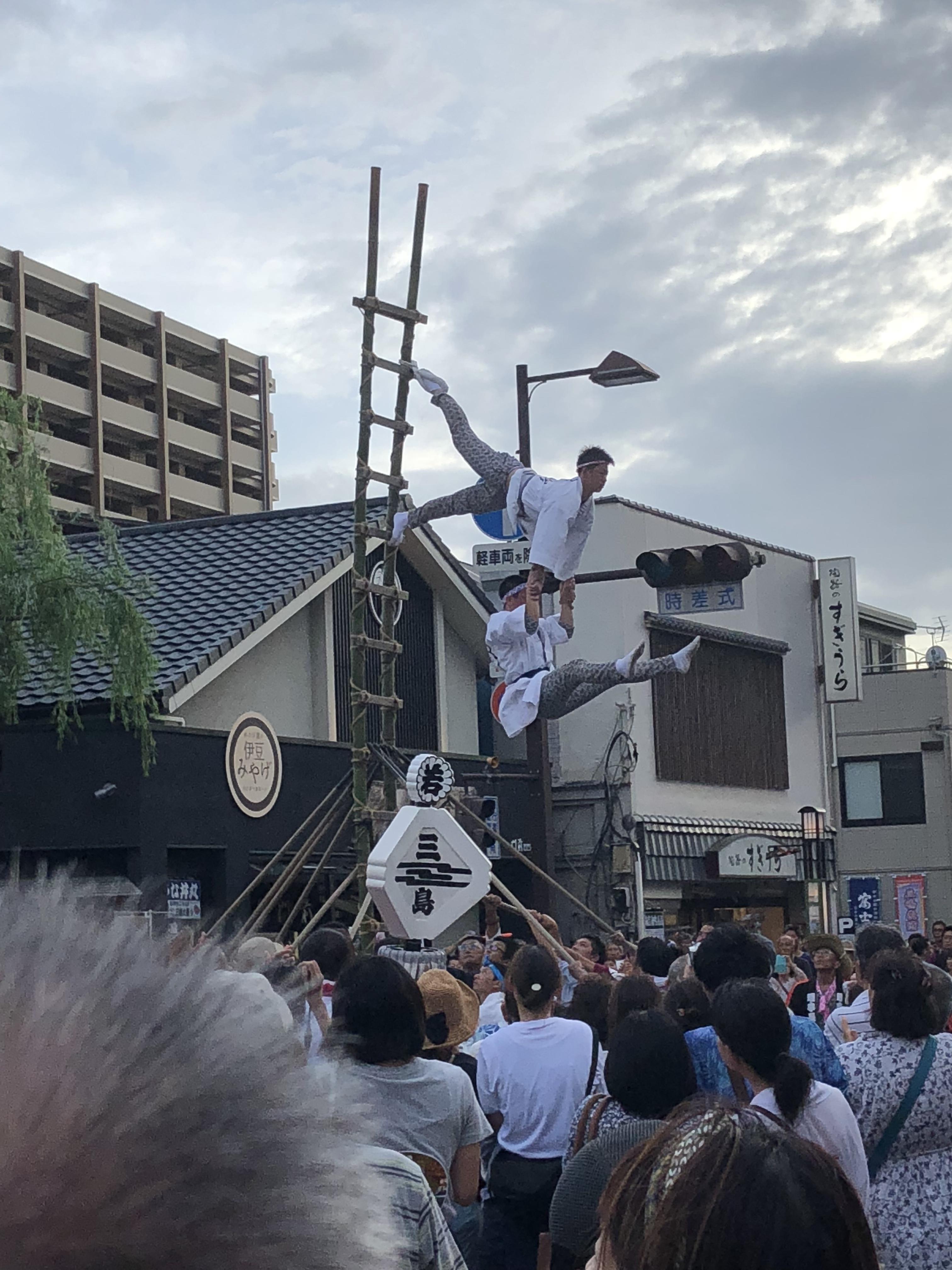 三嶋大社のお祭り