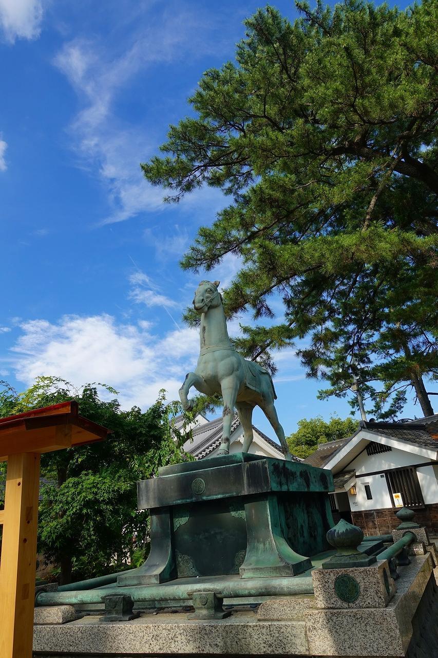 龍城神社の狛犬