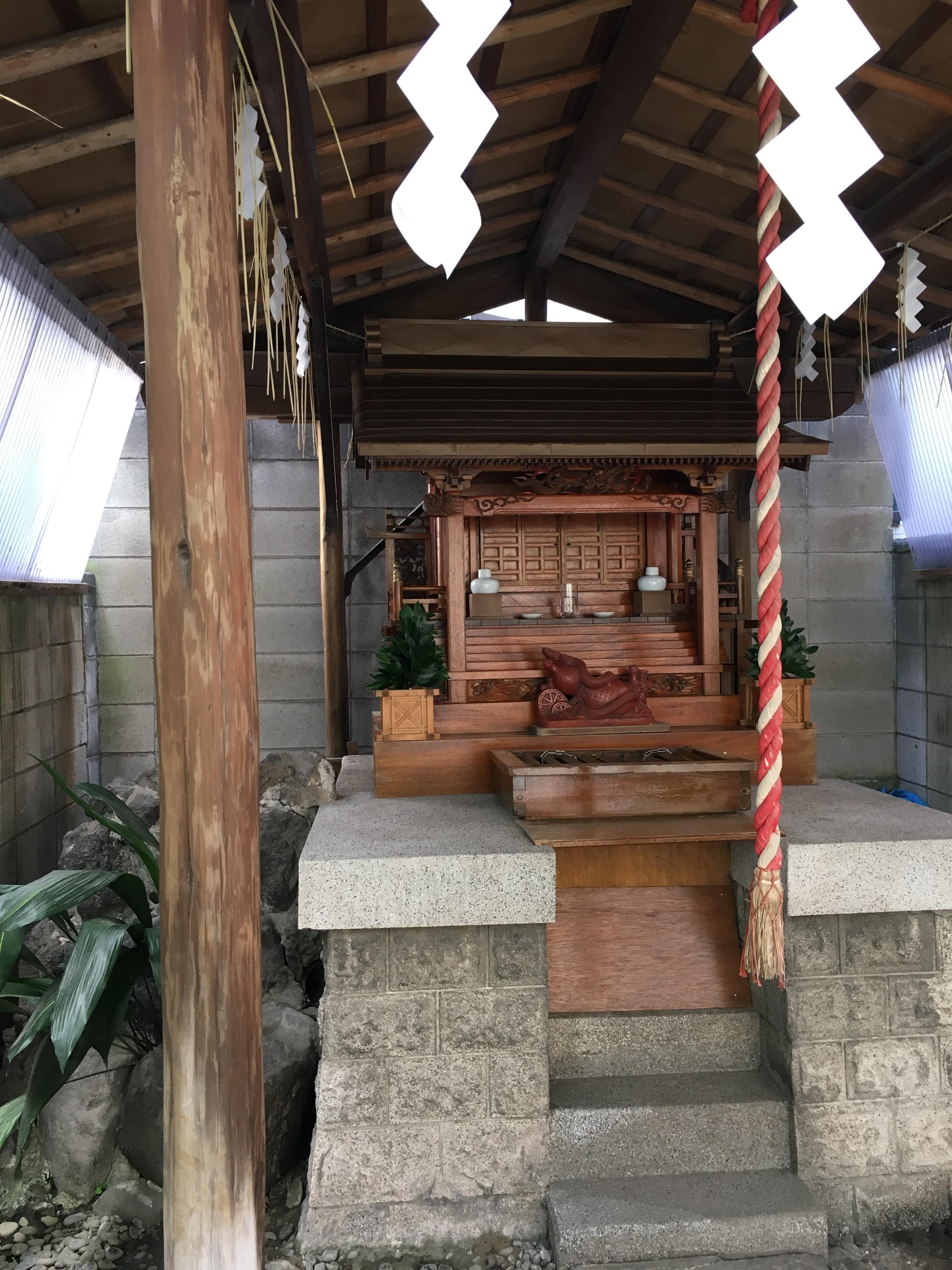 二社神社の本殿