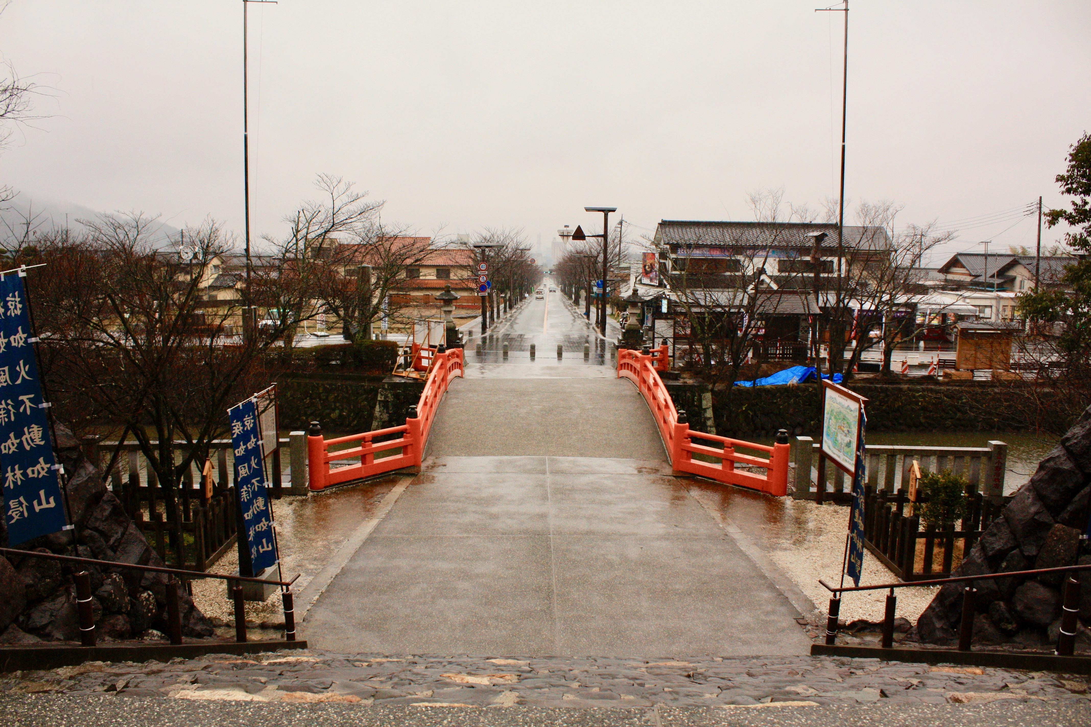武田神社の周辺