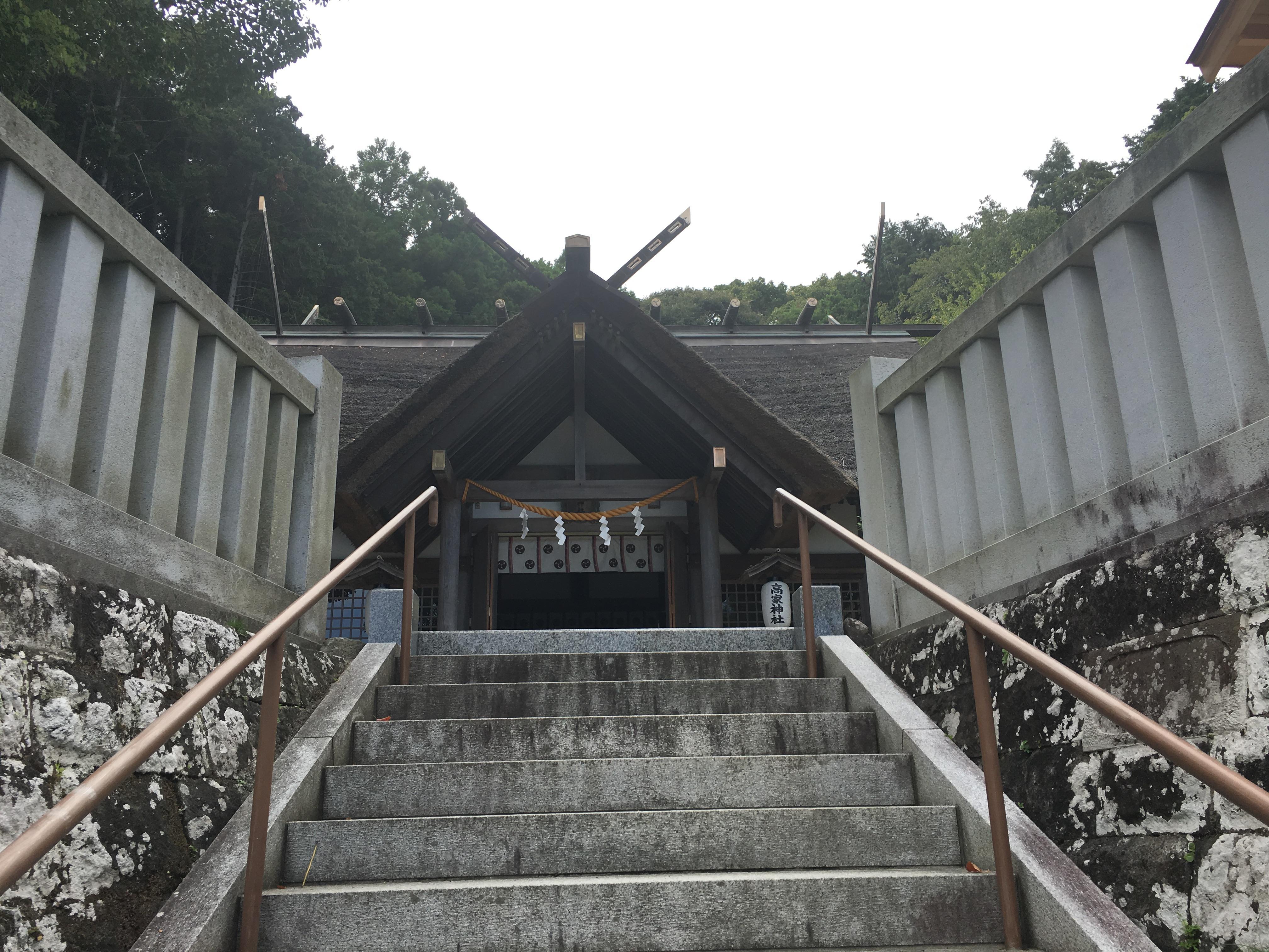 高家神社の本殿・本堂(千葉県千倉駅)