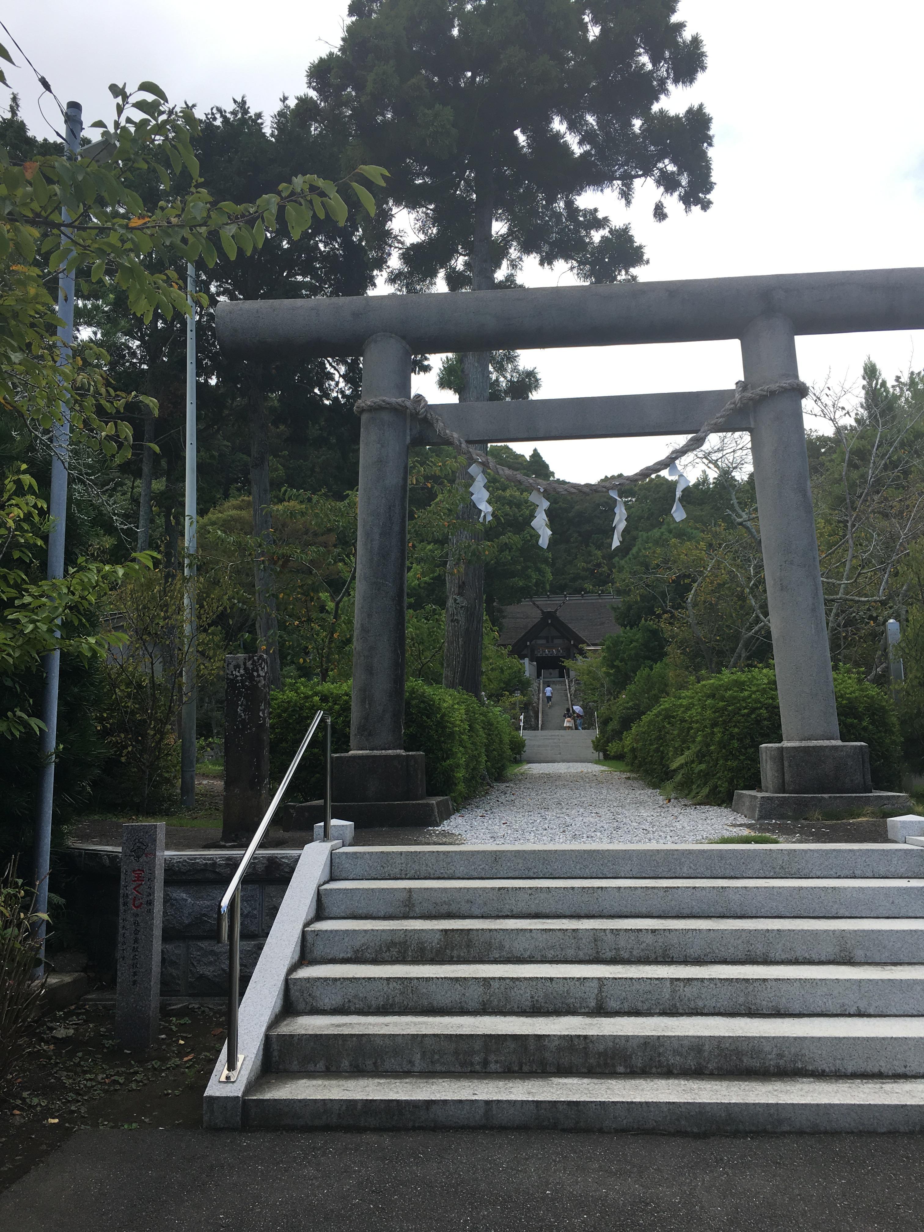 高家神社の鳥居(千葉県千倉駅)